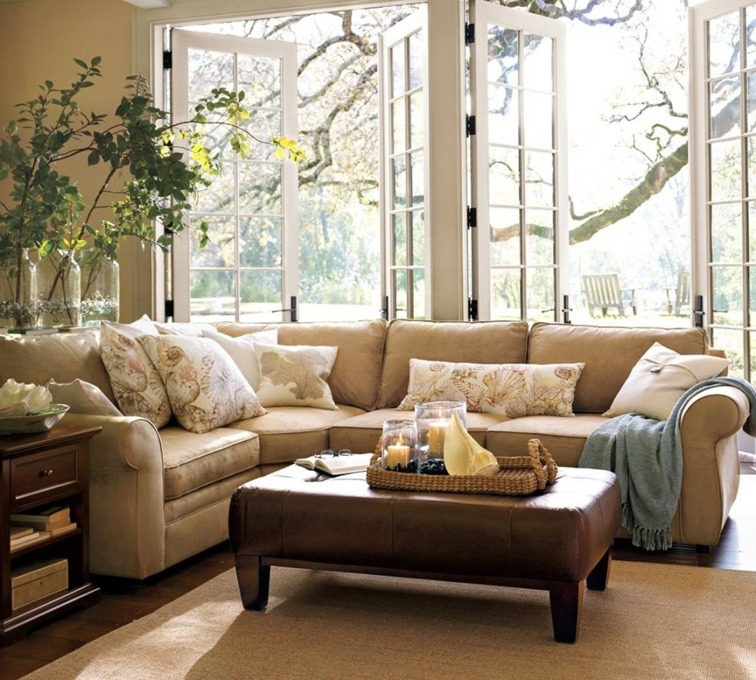 Fashionable Pottery Barn Pearce Sofa Cleaning (View 2 of 15)