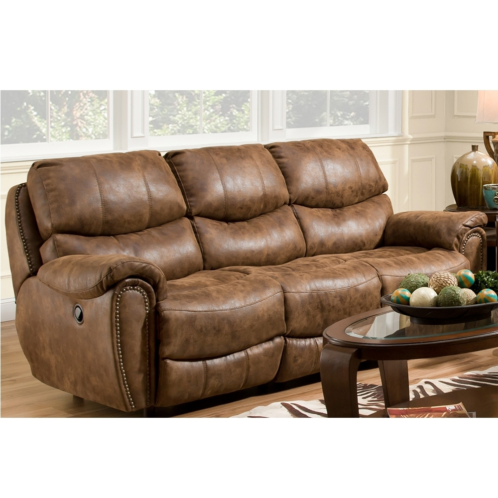 Fashionable Richmond Sofas In Richmond Double Reclining Sofafranklin – Texas Furniture Hut (View 4 of 15)