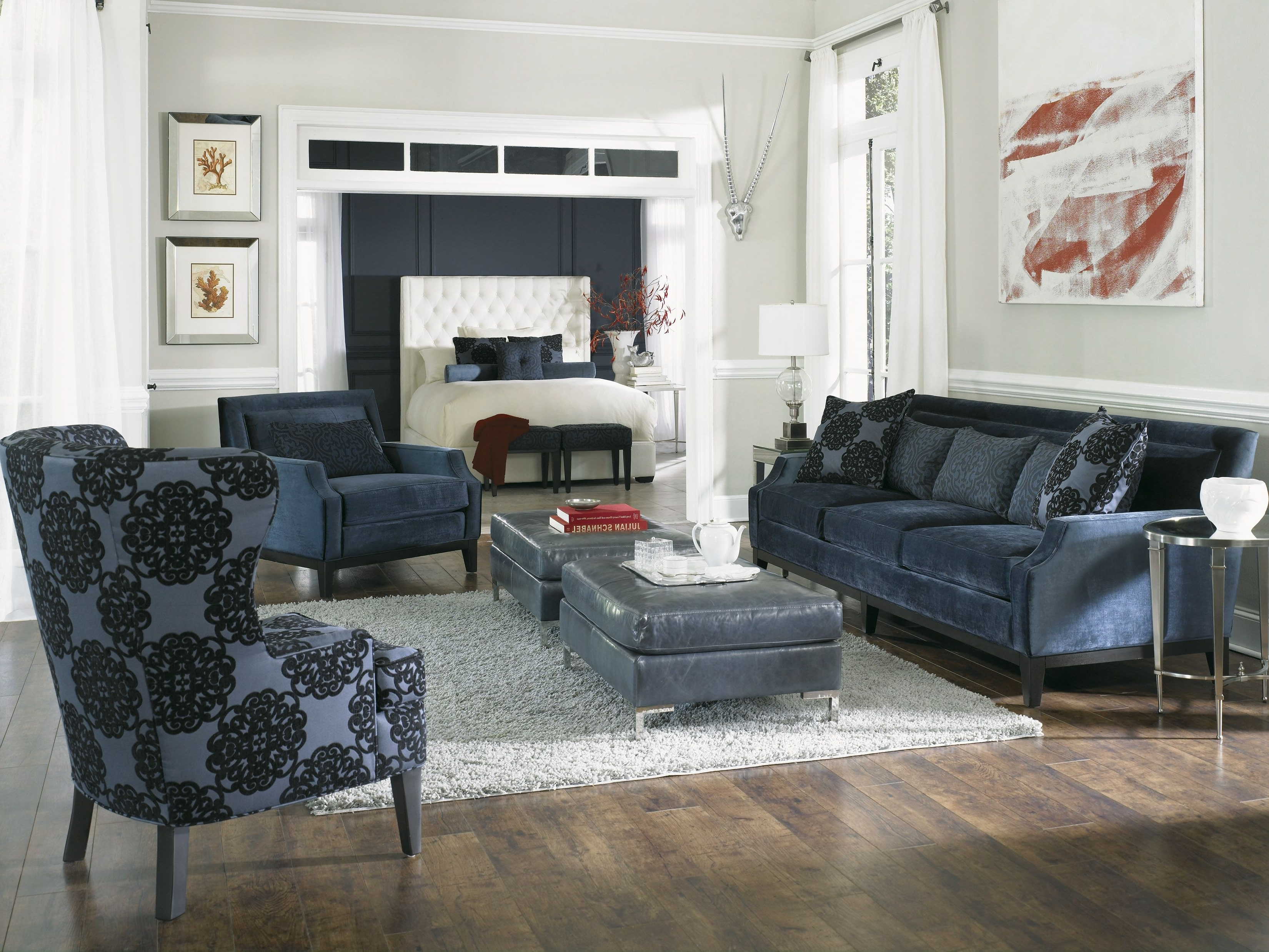 Fashionable Rossdale'. Sofa, Loveseat, Chair & Ottoman (View 4 of 15)