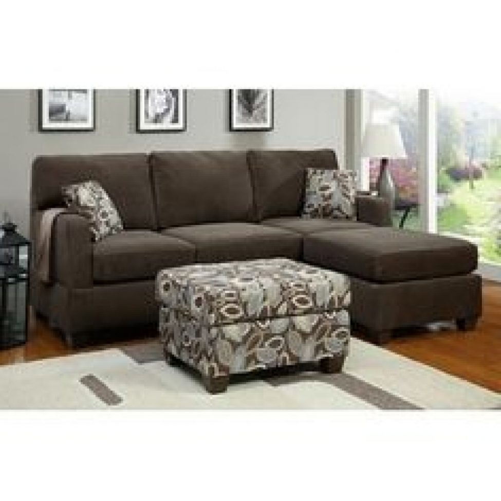 Fashionable Sears Sectional Sofas For Sectional Sofas: Smaller Sectional Type Sofa For Small Spaces (View 2 of 15)
