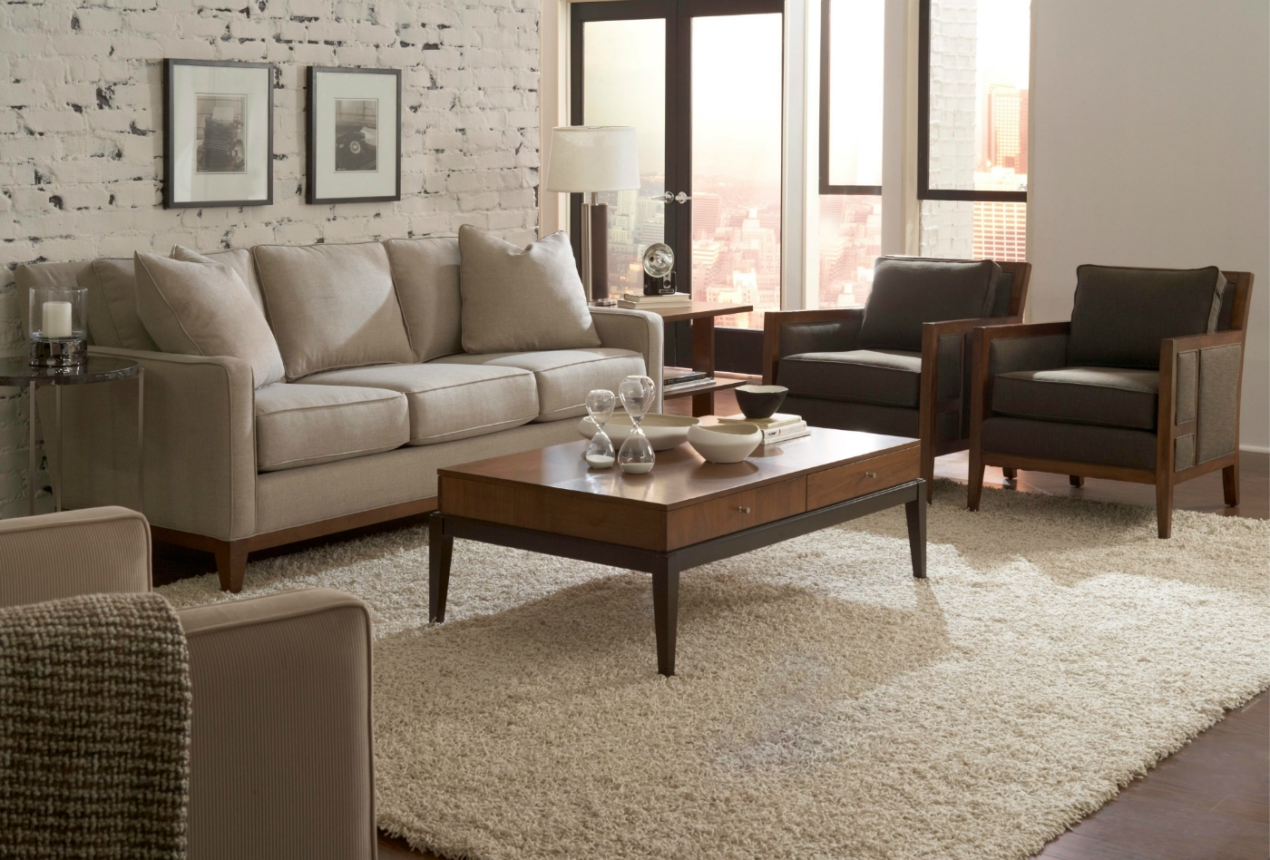 Fashionable Sofa With Chairs Pertaining To Quinn Living Room Sofa And Chairs – Chambers Furniture (View 5 of 15)