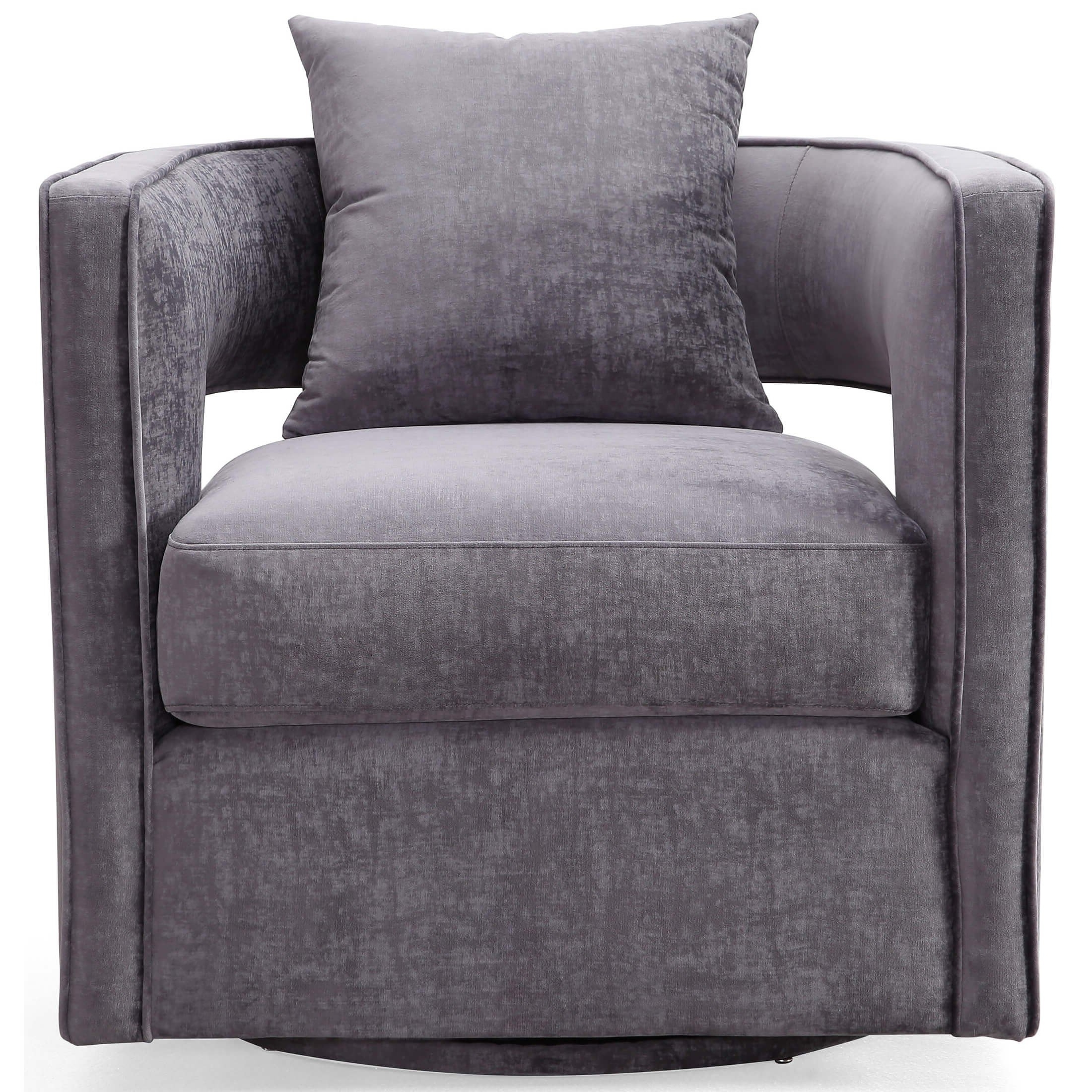 Fashionable Swivel Sofa Chairs In Contemporary Swivel Chairs Tags : Leather Swivel Club Chairs Mid (View 4 of 15)