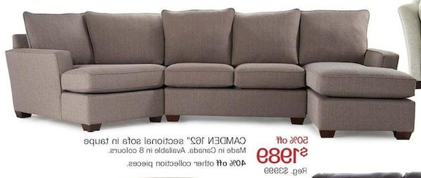 Fashionable The Bay Sectional Sofas With Sectional Sofa (View 3 of 15)