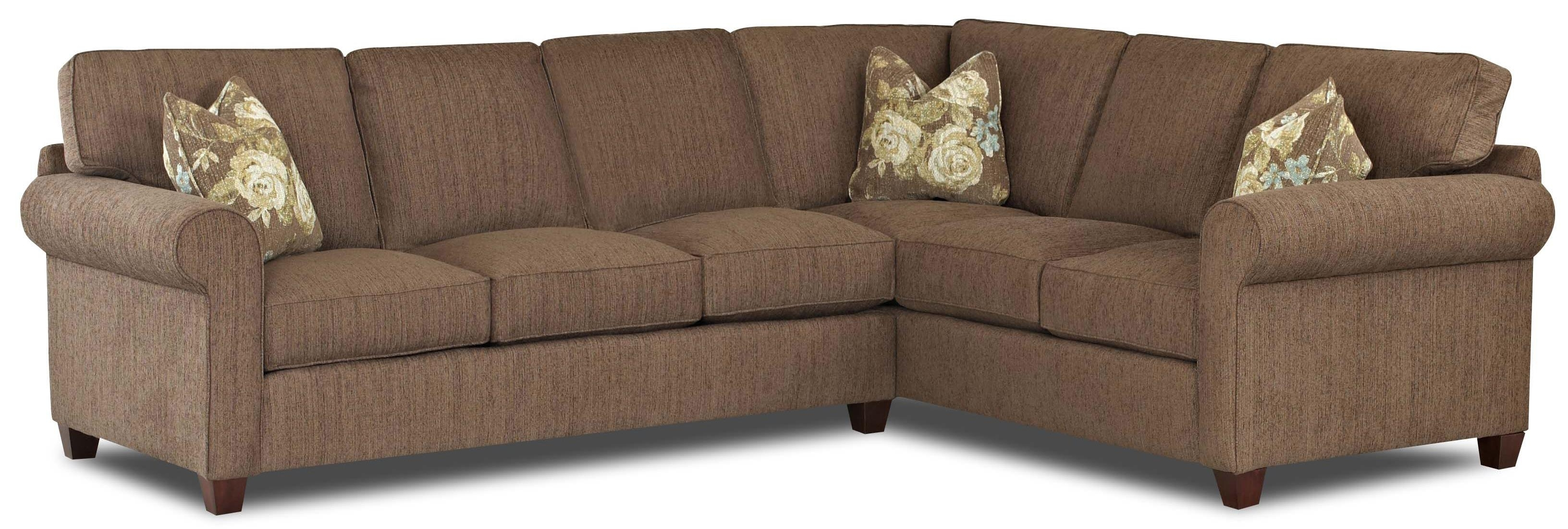 Fashionable Transitional 2 Piece Sectional Sofa With Weltklaussner (View 10 of 15)