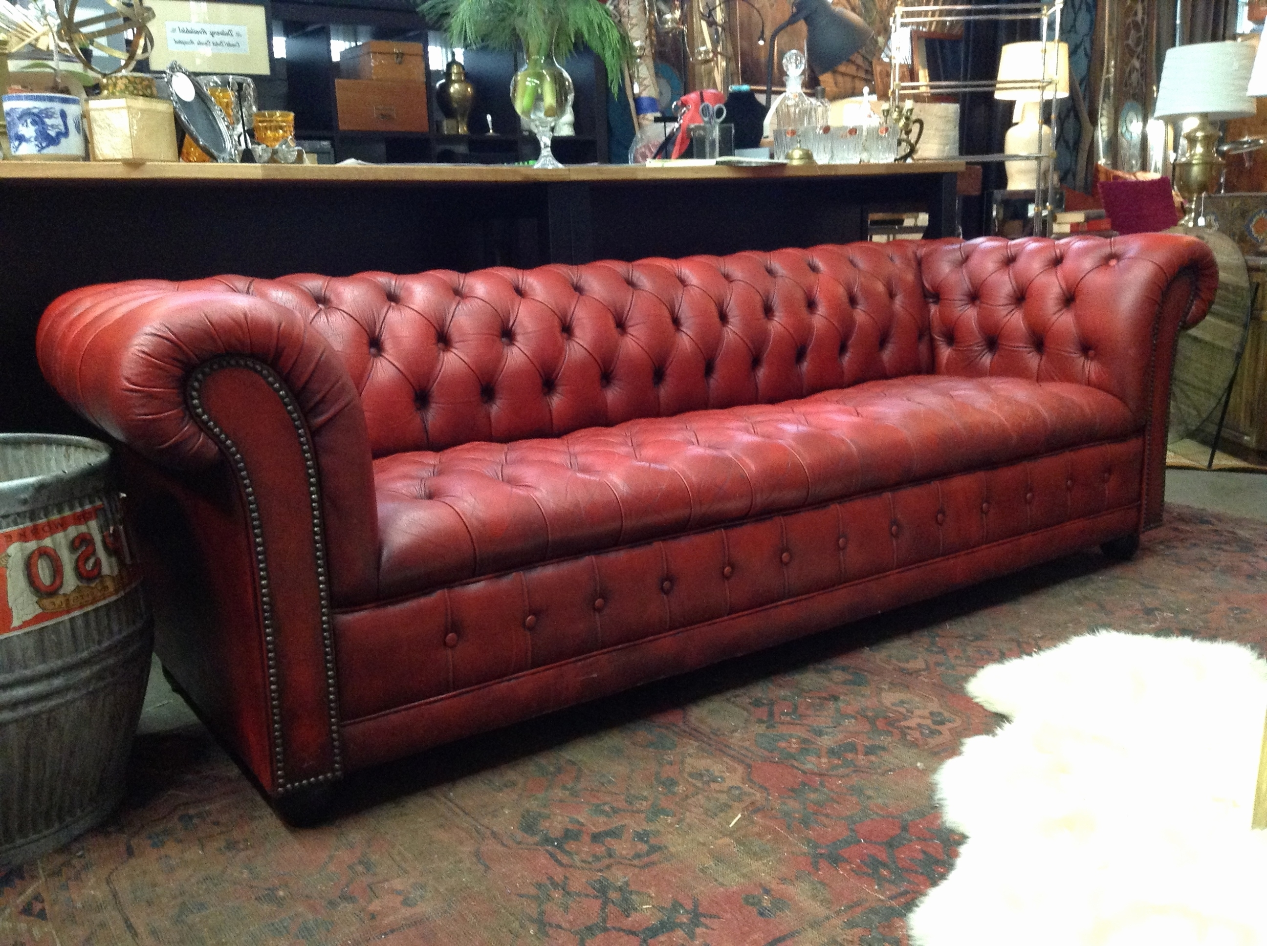 Fashionable Unique Leather Chesterfield Sleeper Sofa 2018 – Couches And Sofas In Tufted Leather Chesterfield Sofas (View 6 of 15)