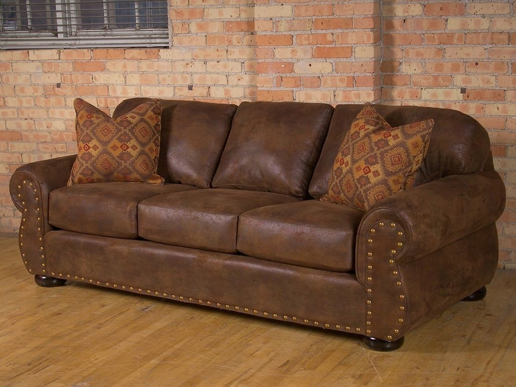 Fashionable Western Style Sectional Sofas Pertaining To Rustic Leather Living Room Furniture Reclining Sofa Western Texas (View 2 of 15)