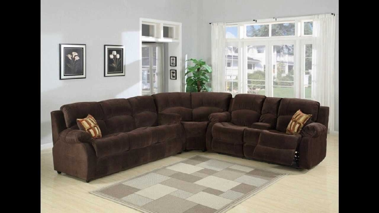 Favorite 3 Pc Tracey Chocolate Plush Microfiber Upholstered Sectional Sofa Pertaining To Plush Sectional Sofas (View 4 of 15)