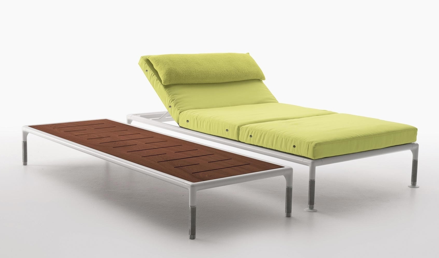 Favorite Adjustable Chaise Lounges Throughout B&b Italia – Springtime – Chaise Lounge With Adjustable Back (View 8 of 15)