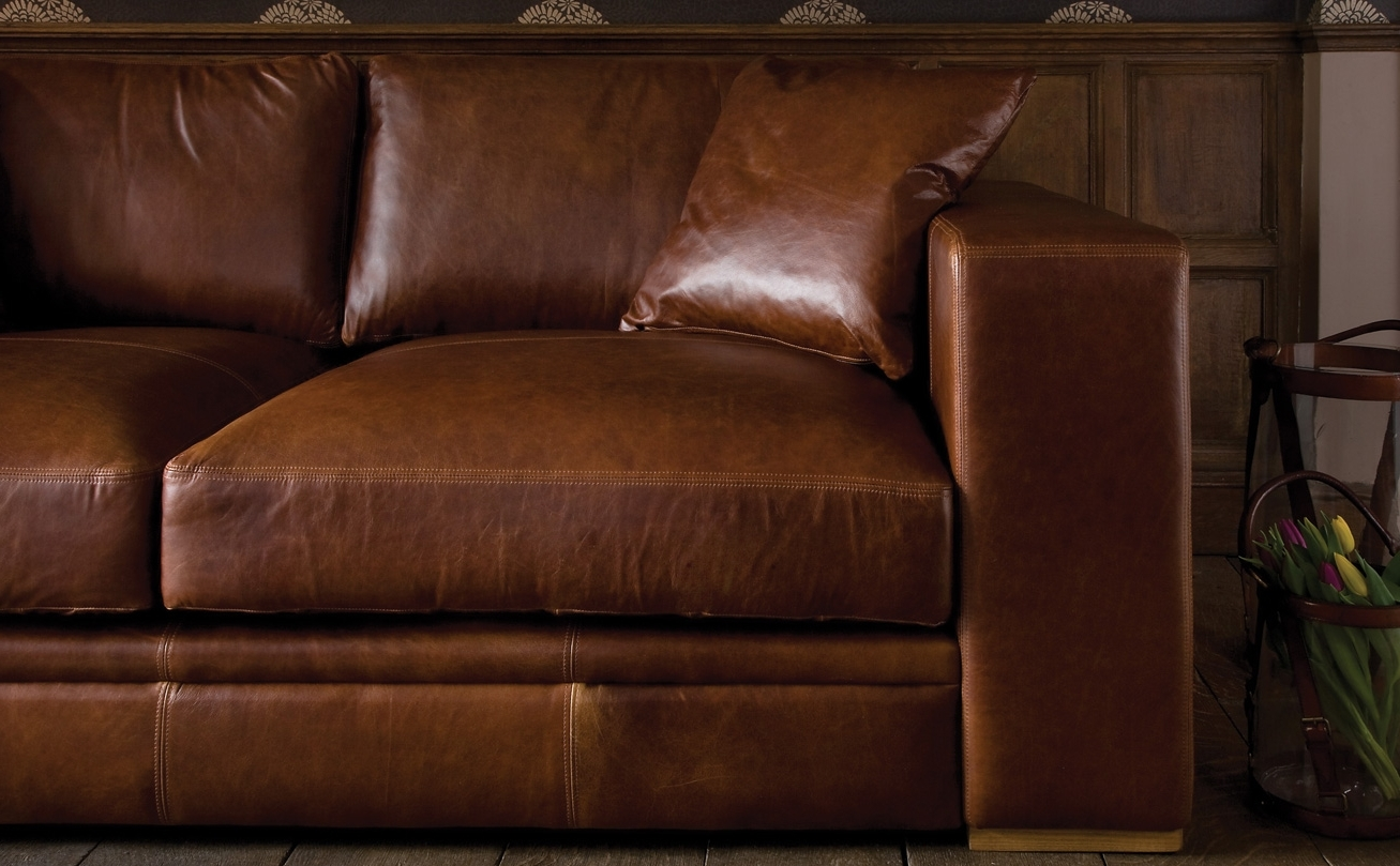 Favorite Aniline Leather Sofas Within Aniline Leather Sofasindigo Furniture (View 11 of 15)
