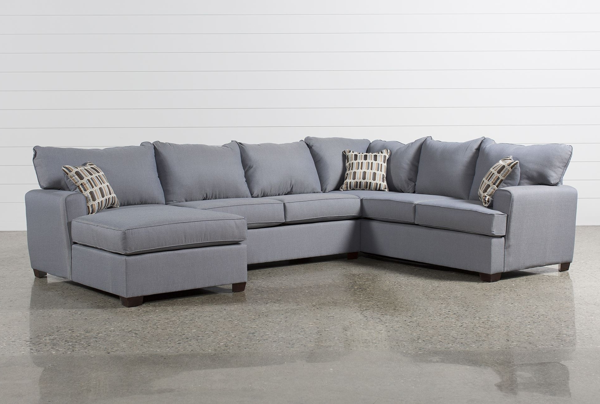 Favorite Bingham 3 Piece Sectional W/raf Chaise – Signature (View 6 of 15)