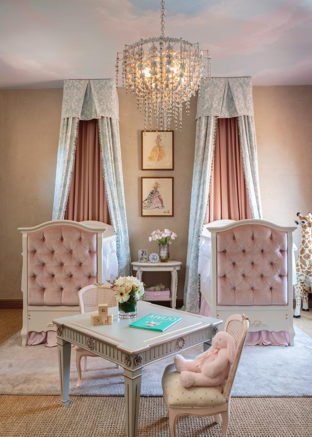 Favorite Chandeliers For Baby Girl Room Pertaining To Chandeliers Design : Magnificent Mini Chrome Crystal Chandelier For (View 11 of 15)