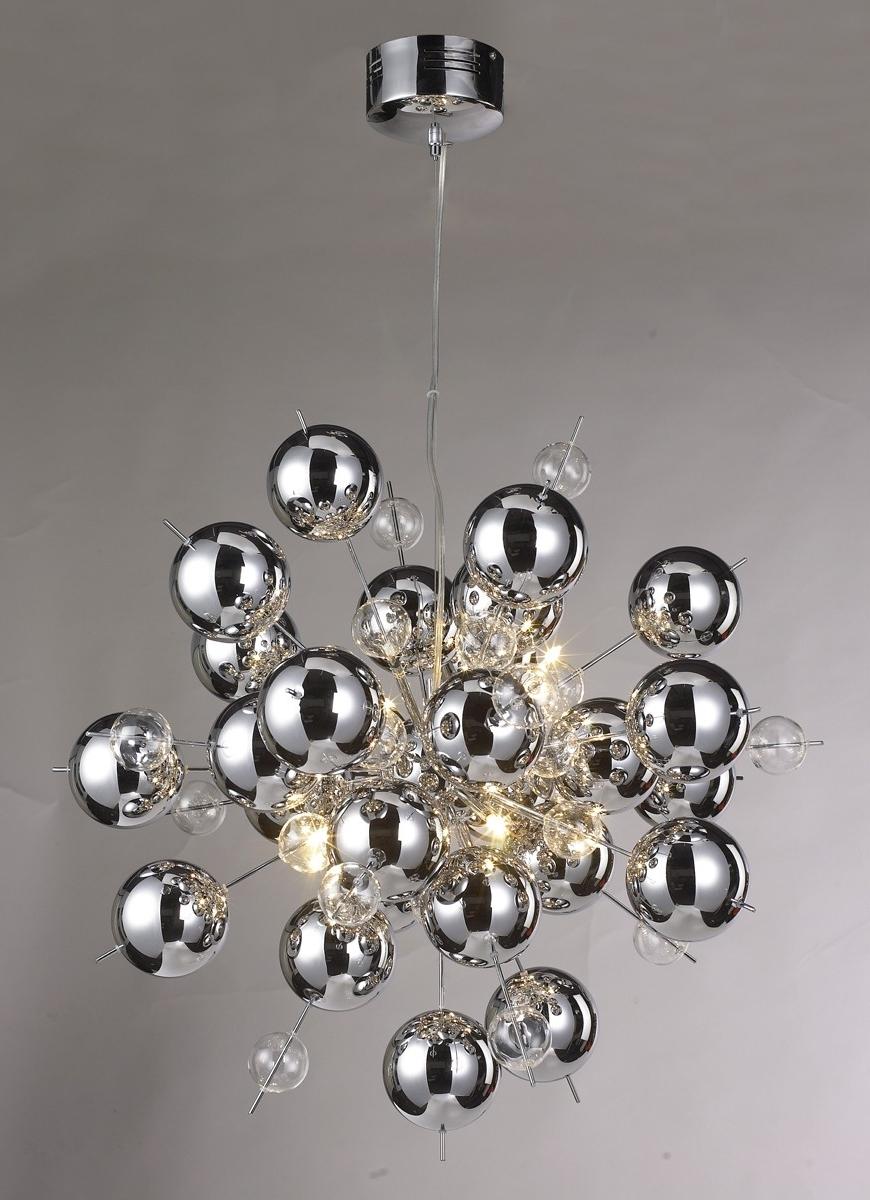 Favorite Chrome Sputnik Chandeliers For Chrome Ball Sputnik Chandelier – Be Fabulous! (View 5 of 15)