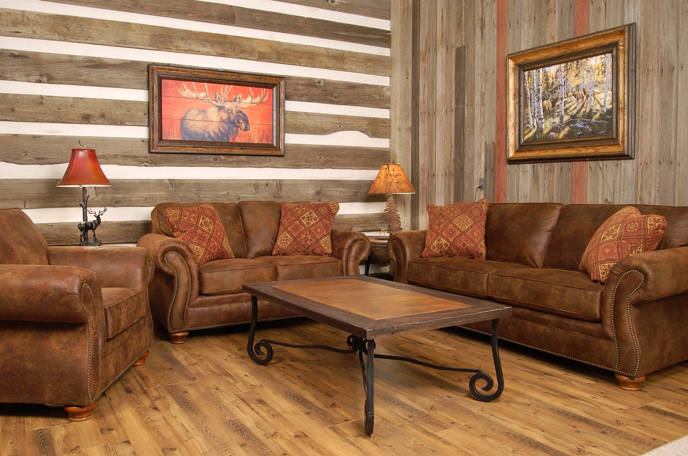 Favorite Country Style Sofas Inside Furniture : Classical Country Style Living Room Furniture With Oak (View 8 of 15)