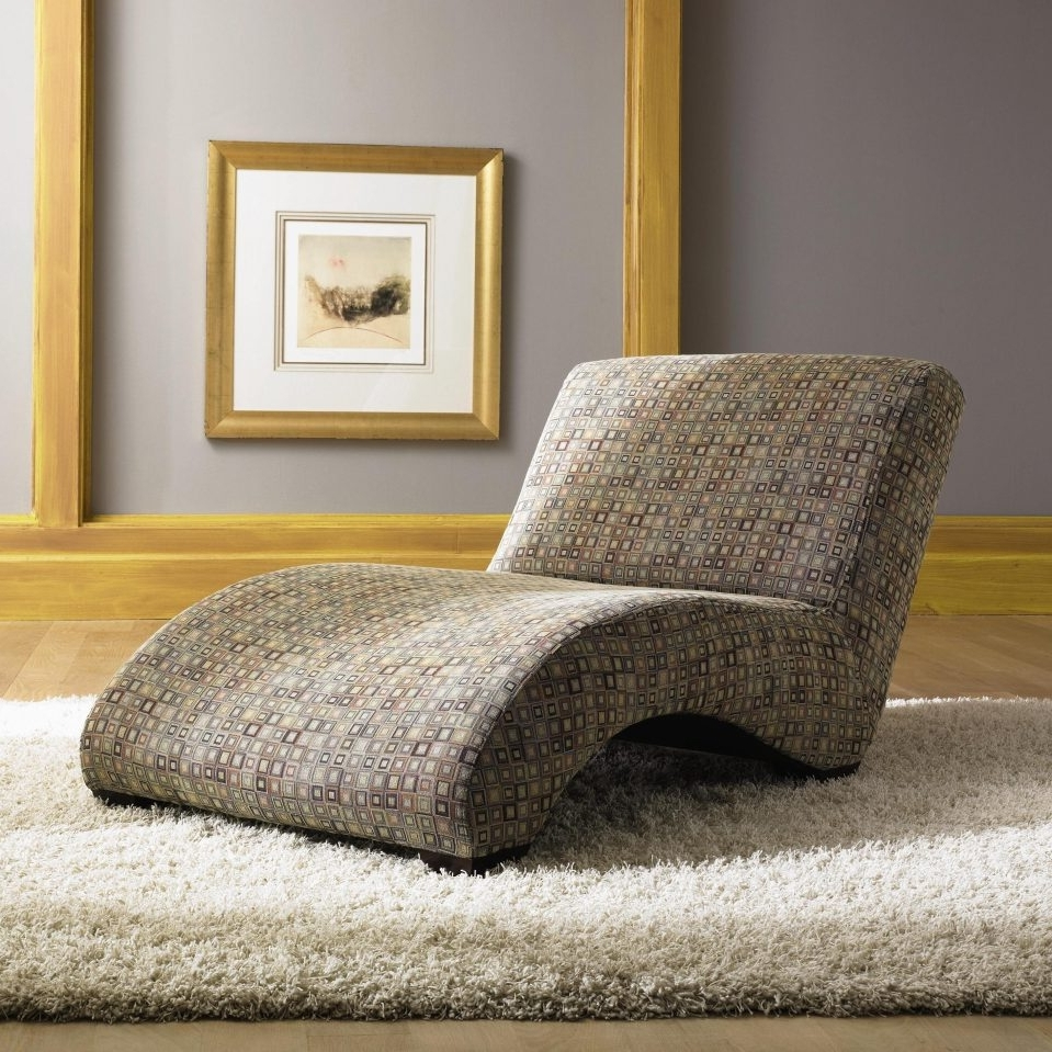 Favorite Damask Chaise Lounge Chairs Intended For Home Designs : Living Room Chaise Lounge Chairs Chaise Lounge (View 11 of 15)