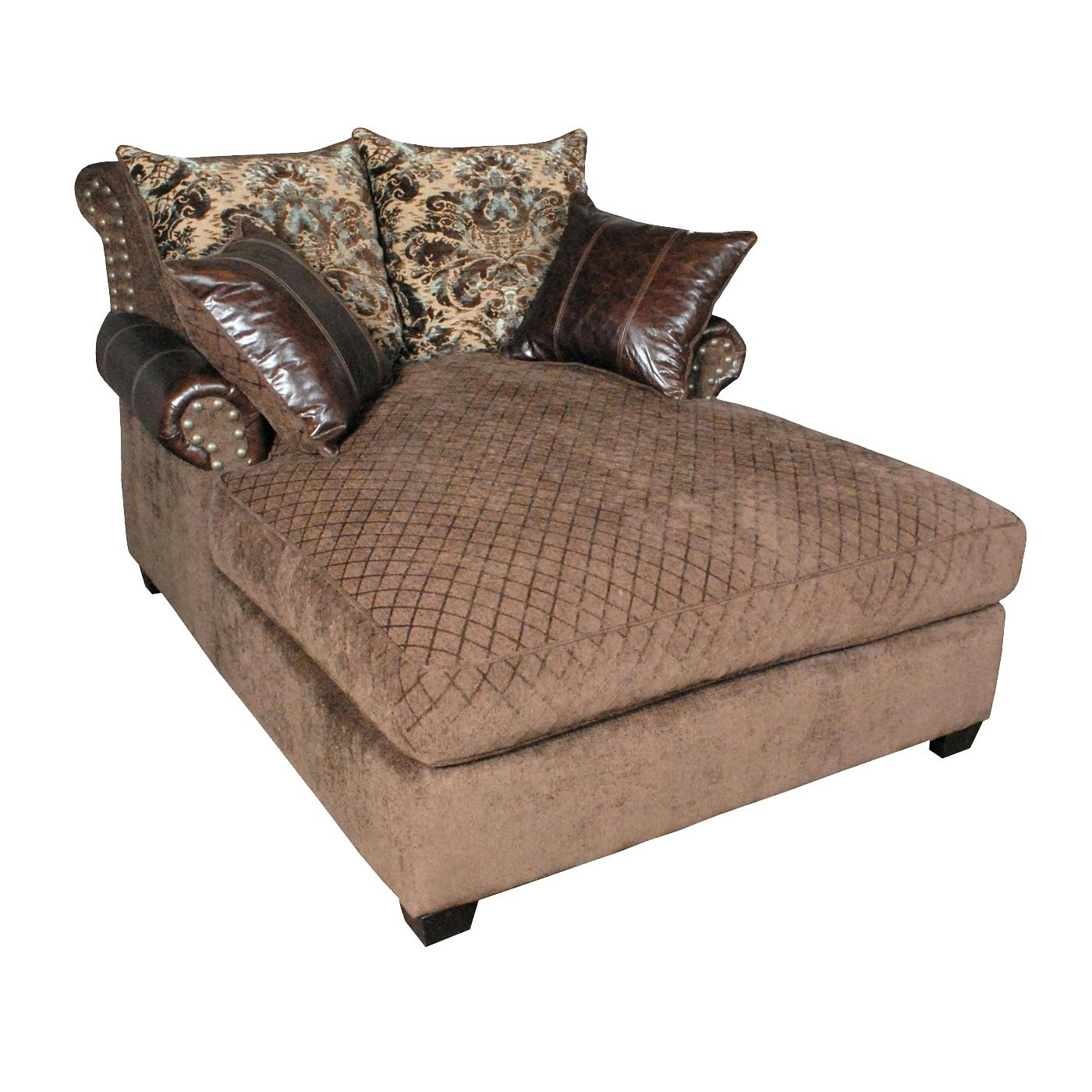 Favorite Double Chaise Lounge Chair Cover • Chair Covers Ideas Intended For Oversized Chaise Lounge Chairs (View 1 of 15)