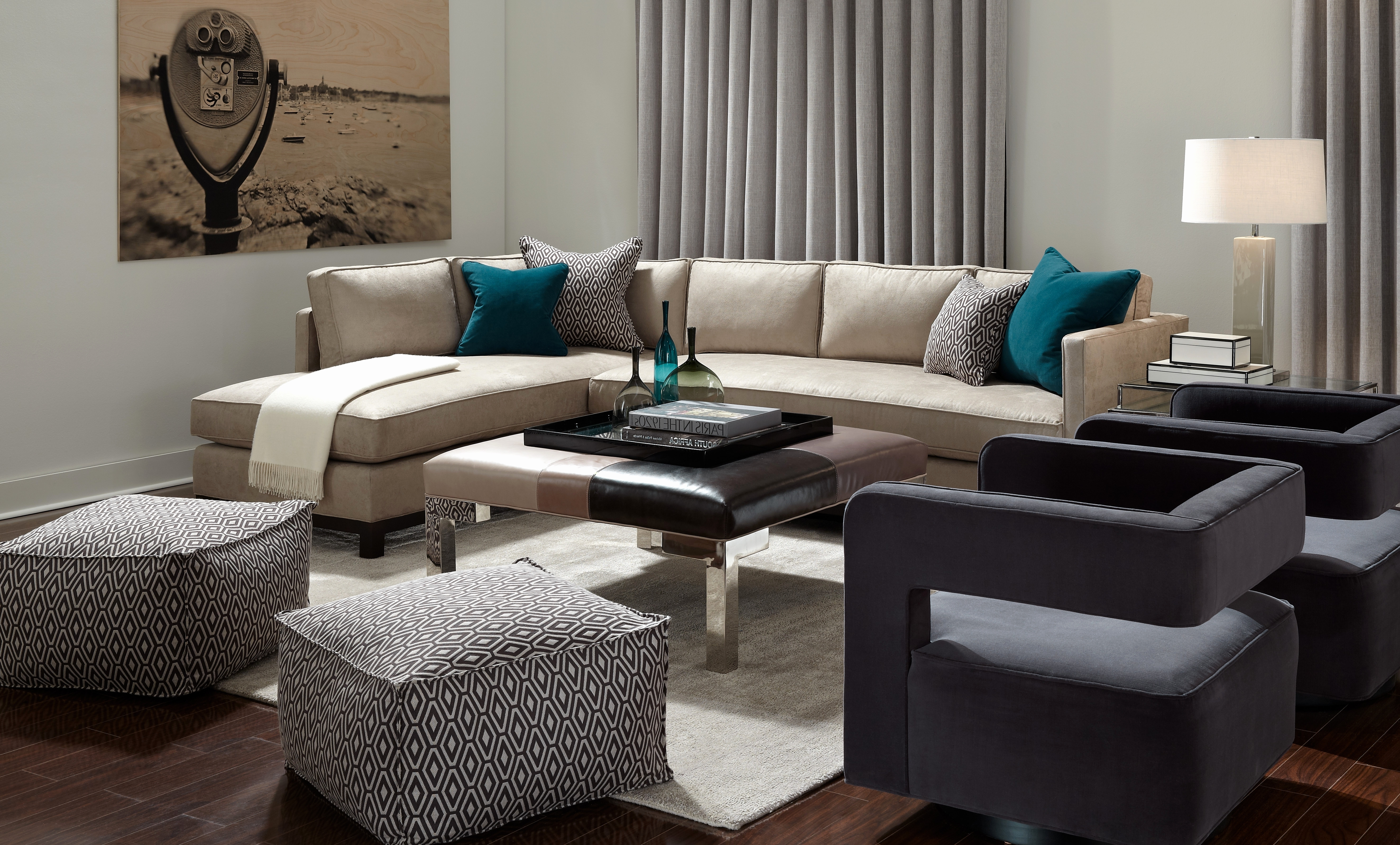 Favorite Elegant Mitchell Gold Bob Williams Hunter Sofa 2018 – Couches Ideas Throughout Gold Sectional Sofas (View 15 of 15)