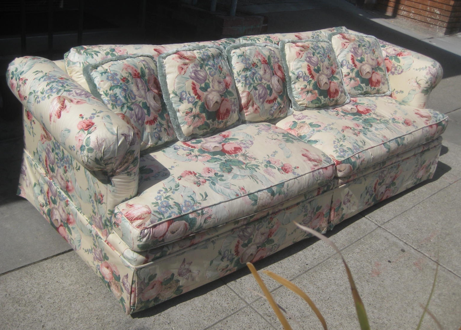 Favorite Furniture : Covers For Sofas And Couch Sure Fit Lexington Floral With Chintz Covered Sofas (View 9 of 15)