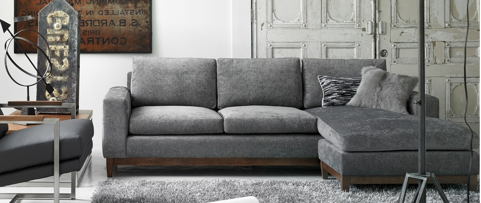 Favorite Gatineau Sectional Sofas With Modern Furniture Store Montreal And Ottawa (View 4 of 15)