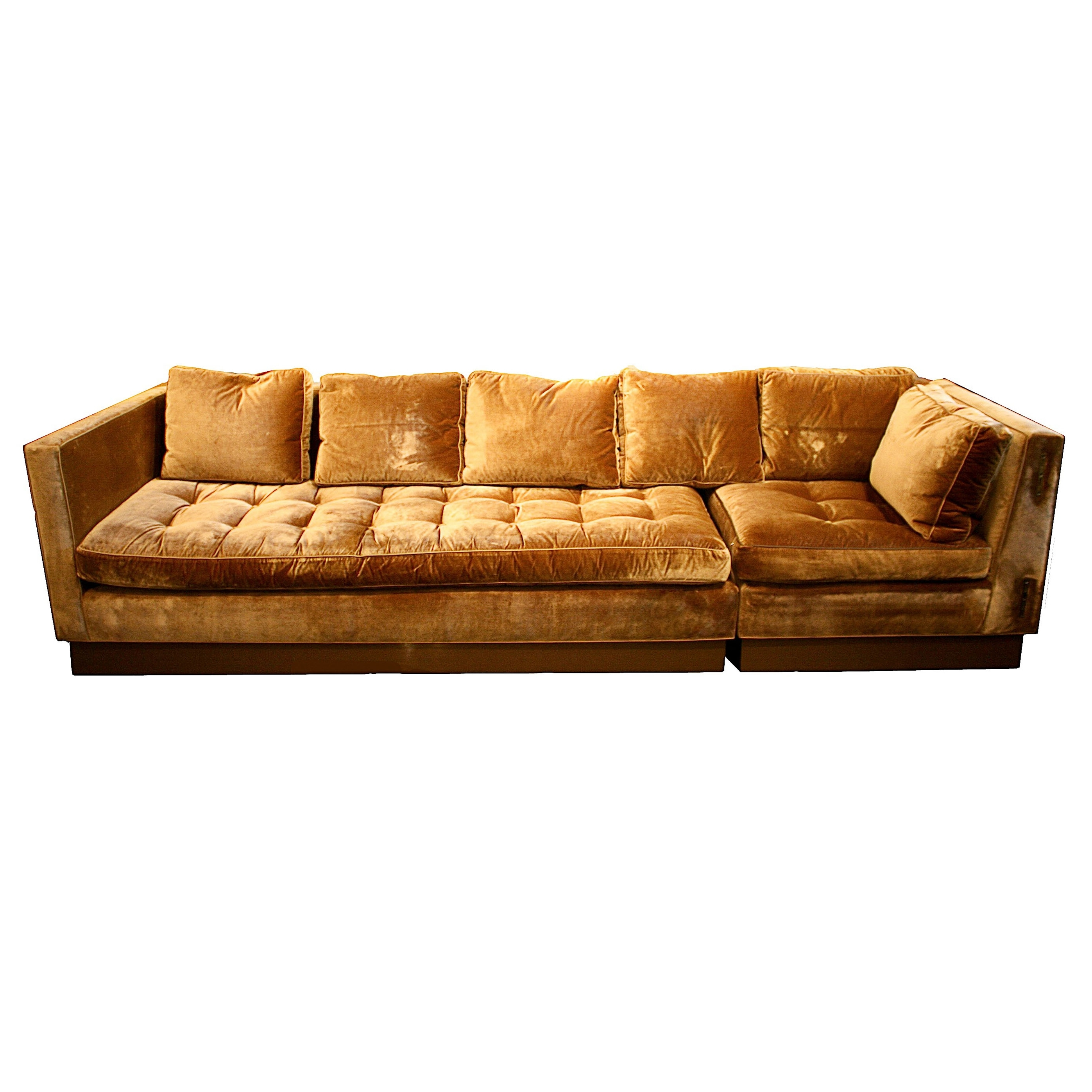 Favorite Gold Sectional Sofas For Ancient Red Tone Sectional Sofa Bed And Love Seat As Well As Grey (View 6 of 15)