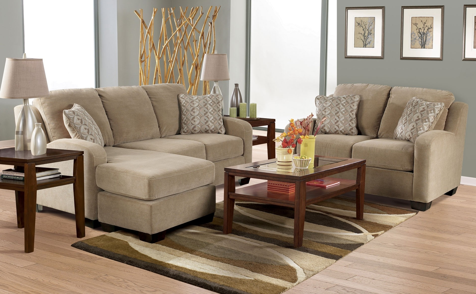 Favorite Heavenly Ashley Furniture Sofa Chaise Painting Or Other Backyard Pertaining To Sofa Loveseat And Chaise Sets (View 5 of 15)