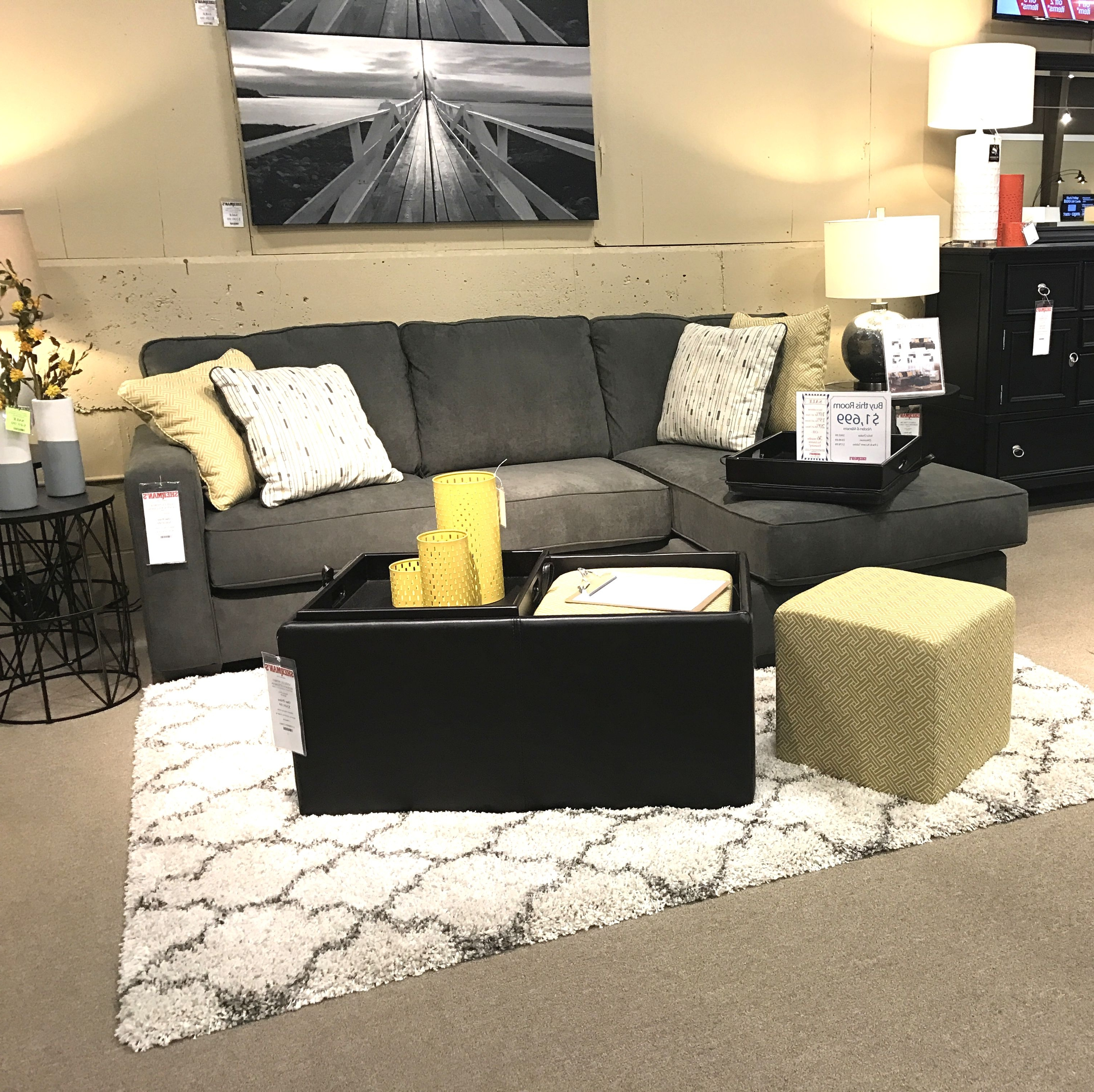 Favorite Hodan Sofas With Chaise Regarding Our New Ashley Hodan Chofa Features An Ottoman And Chaise You Can (View 10 of 15)