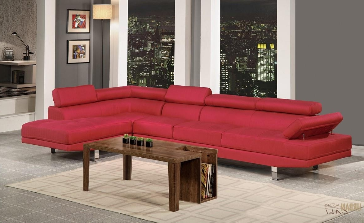 Favorite Hollywood Red Linen Adjustable Sectional Sofa With Armless Chair In Kelowna Bc Sectional Sofas (View 15 of 15)