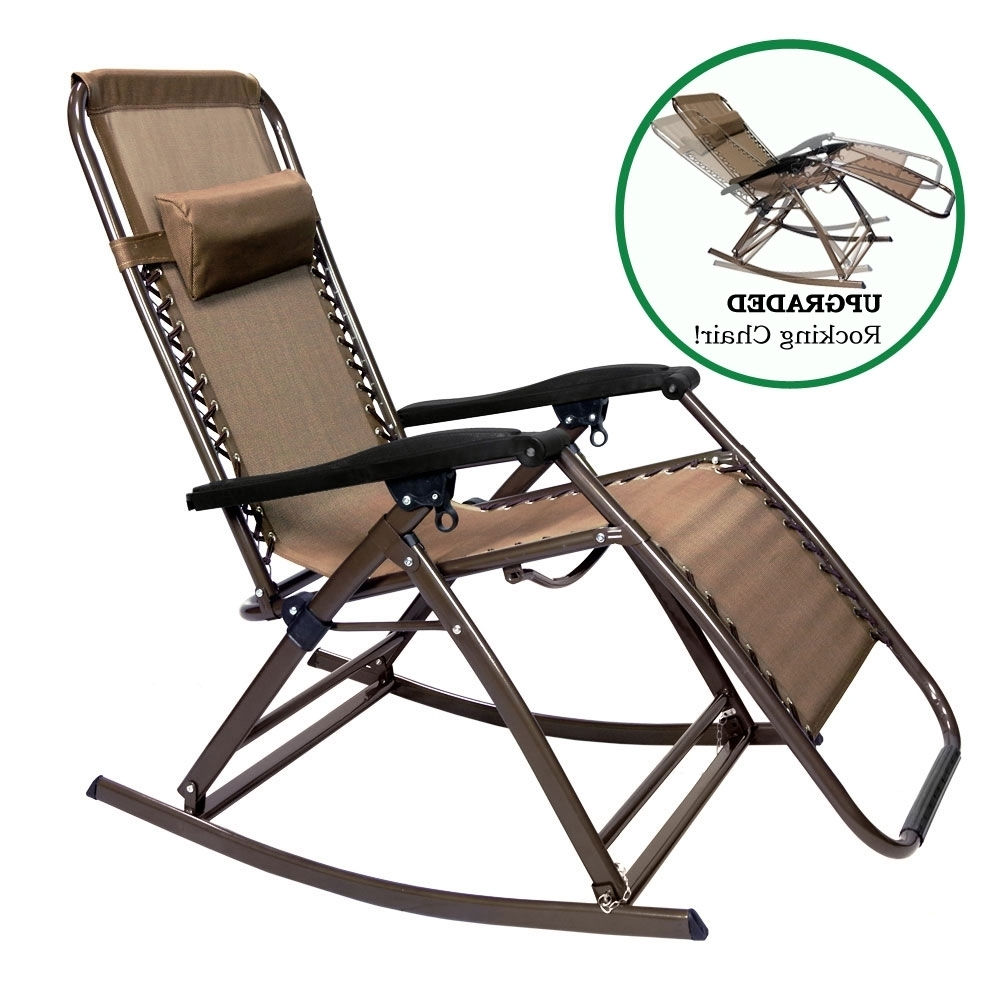 Favorite Infinity Zero Gravity Outdoor Lounge Chair (View 7 of 15)