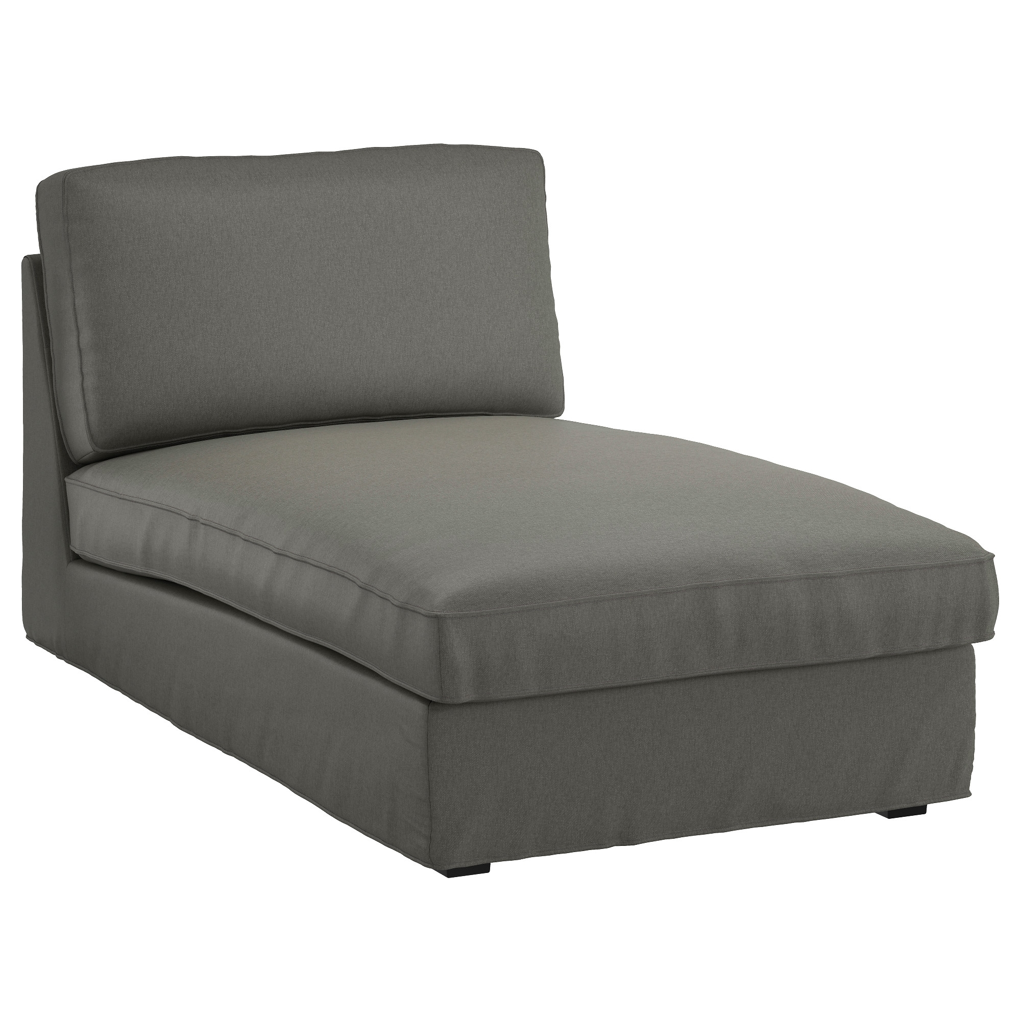 Favorite Kivik Chaise Longue Borred Grey Green – Ikea Intended For Ikea Chaise Sofas (View 3 of 15)