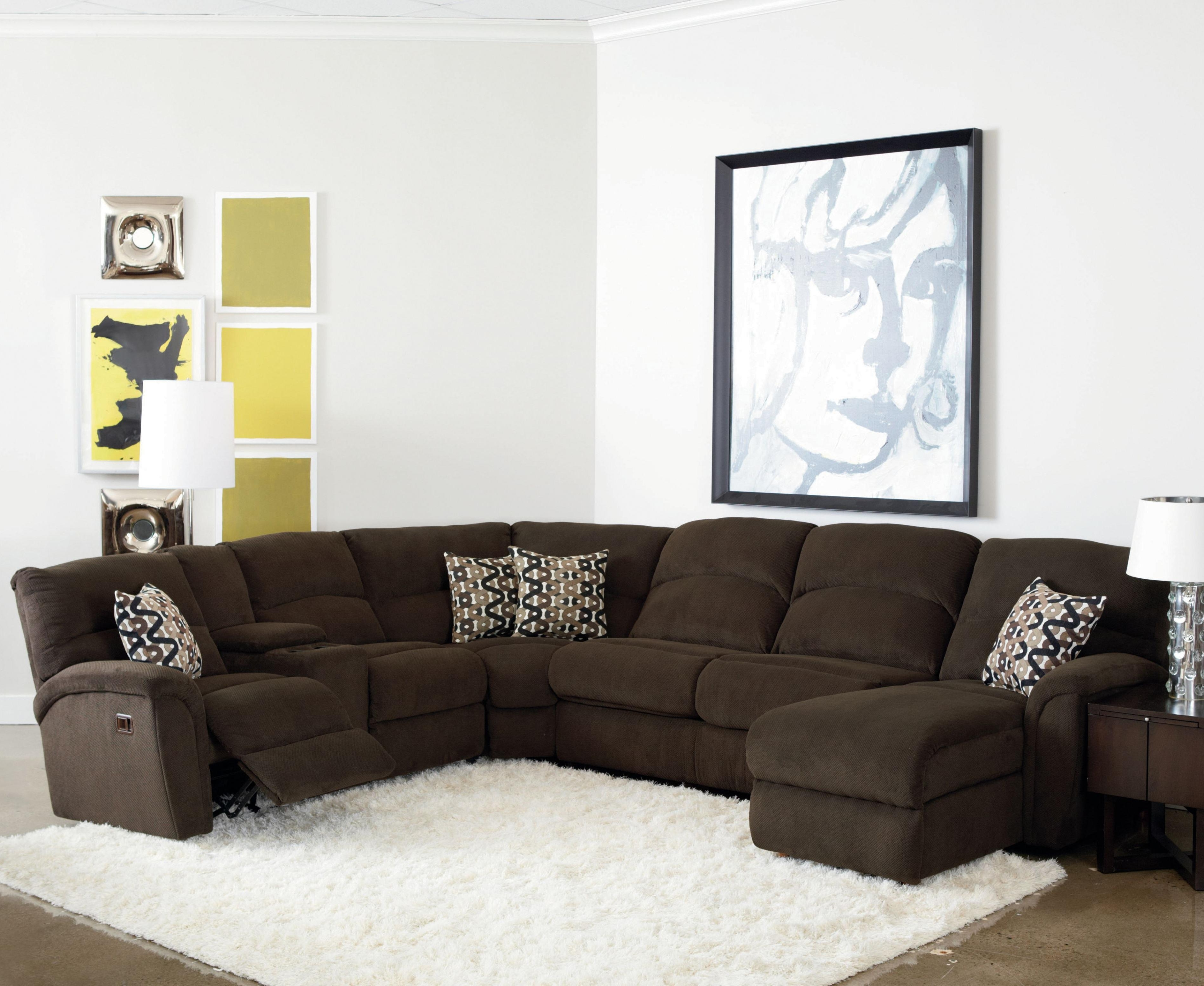 Favorite Lane Grand Torino Casual Four Piece Power Sectional Sofa W/ Full Intended For Grand Furniture Sectional Sofas (View 6 of 15)