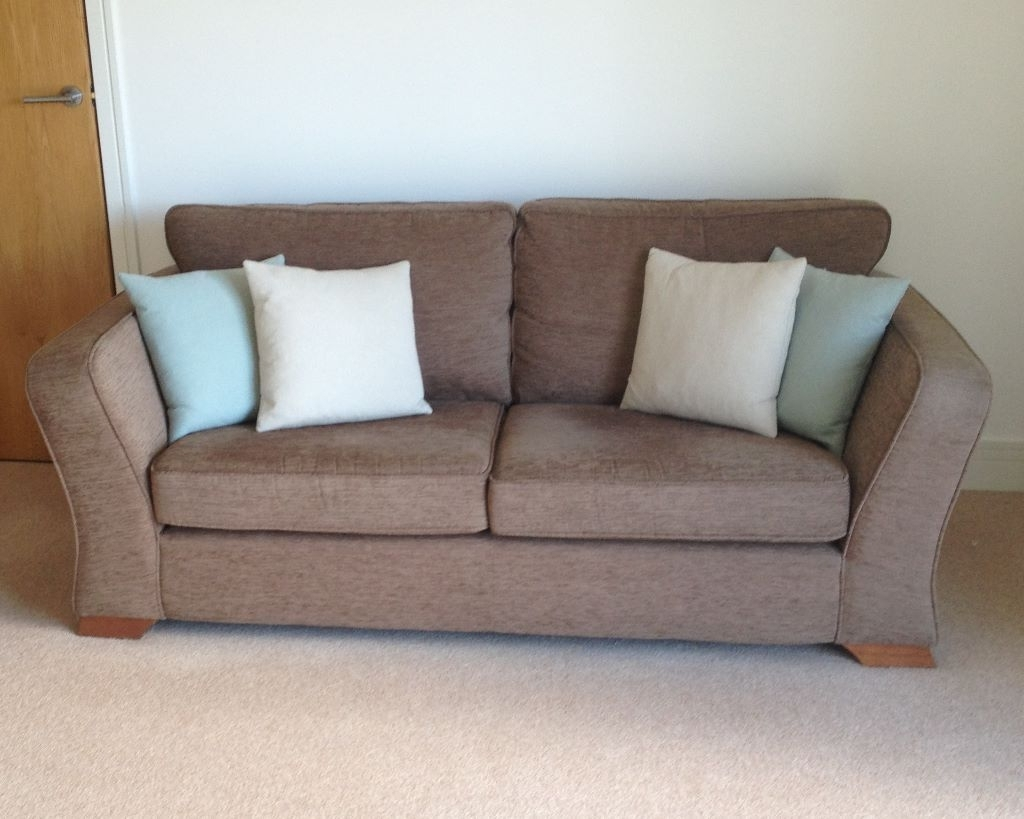 Favorite Marks And Spencer Sofas And Chairs Pertaining To Marks & Spencer Lincoln Medium 3 Seater Sofa Perfect Condition (View 12 of 15)