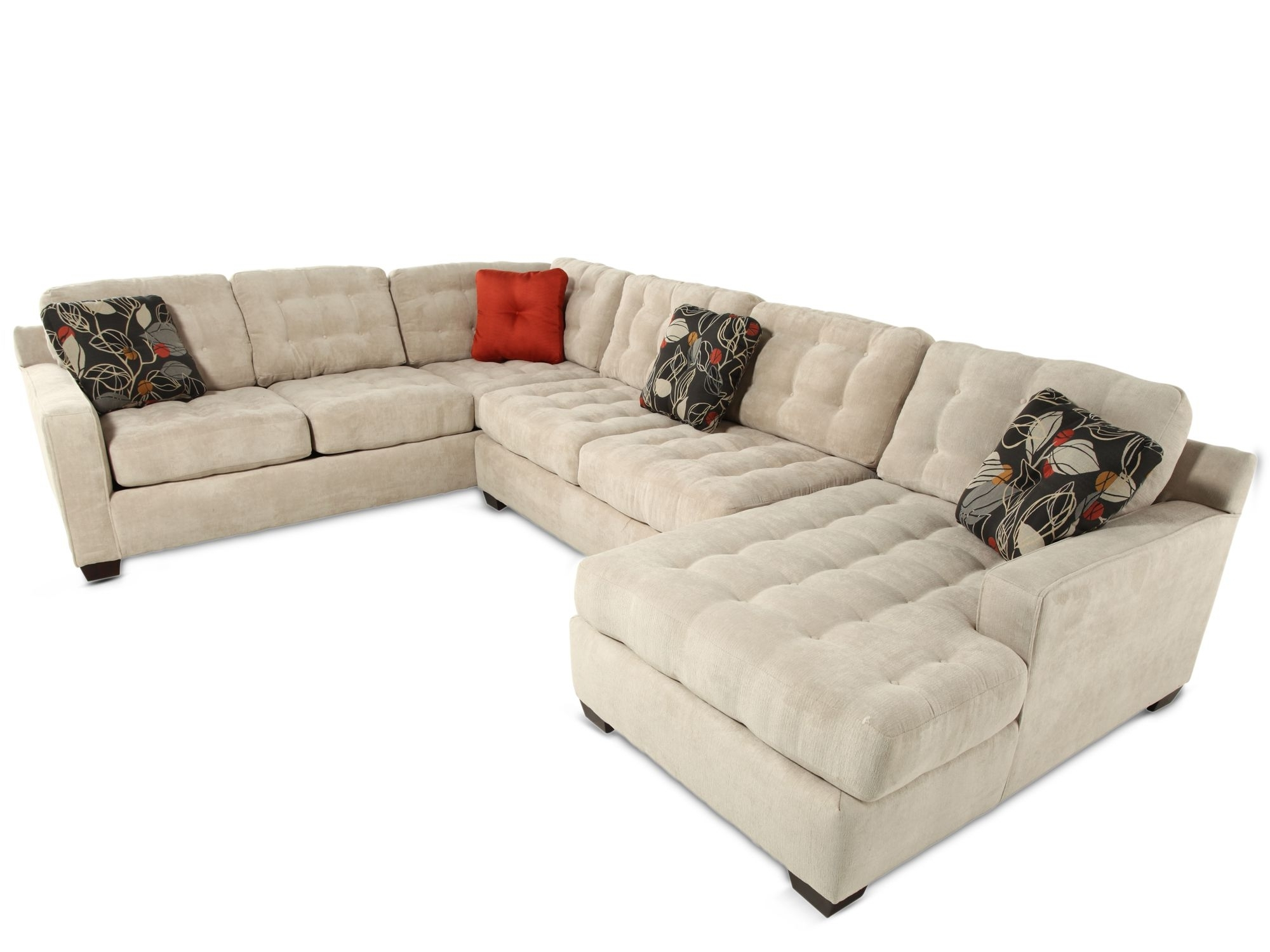 Favorite Mathis Brothers Sectional Sofas Throughout Extraordinary Deep Seated Sofas Sectionals 33 In Sectional Sofas (View 4 of 15)