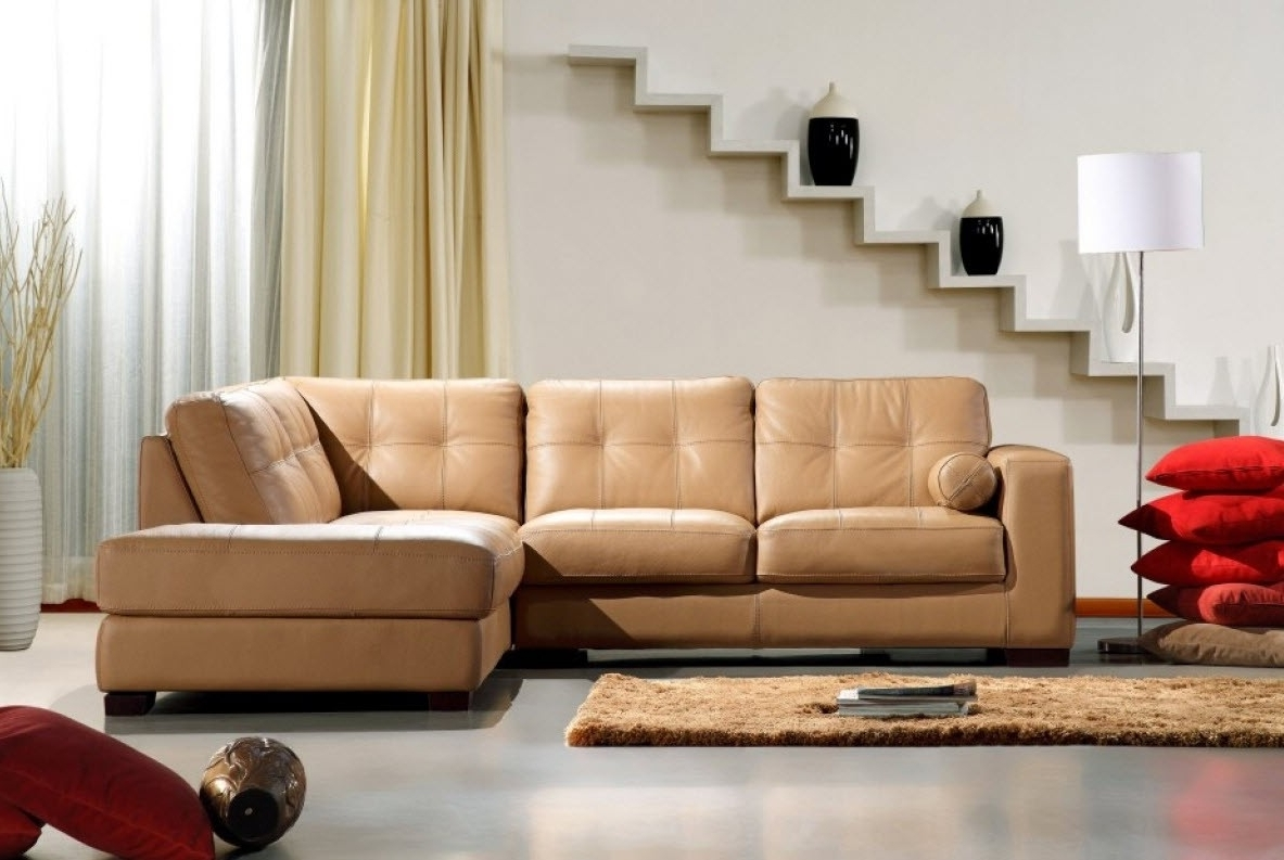 Favorite Modern Home And Office Furniture Store Divani Casa 306Ang Camel For Camel Sectional Sofas (View 8 of 15)