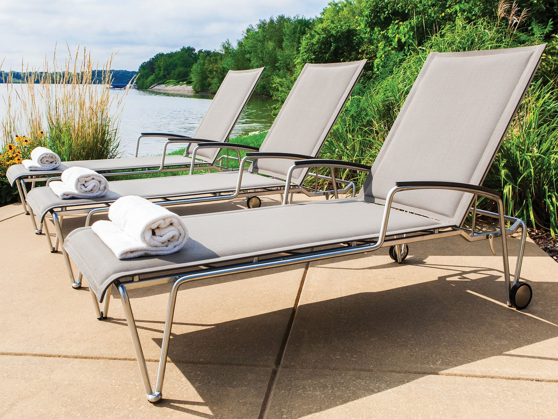 Favorite Pool Chaises With New Pool Chaise Lounge — Stereomiami Architechture : Make A Pool (View 6 of 15)