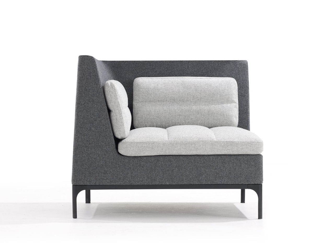 Favorite Single Sofas For Sofa : Cool Single Corner Sofa 1 Single Corner Sofa Corner Sofa (View 8 of 15)