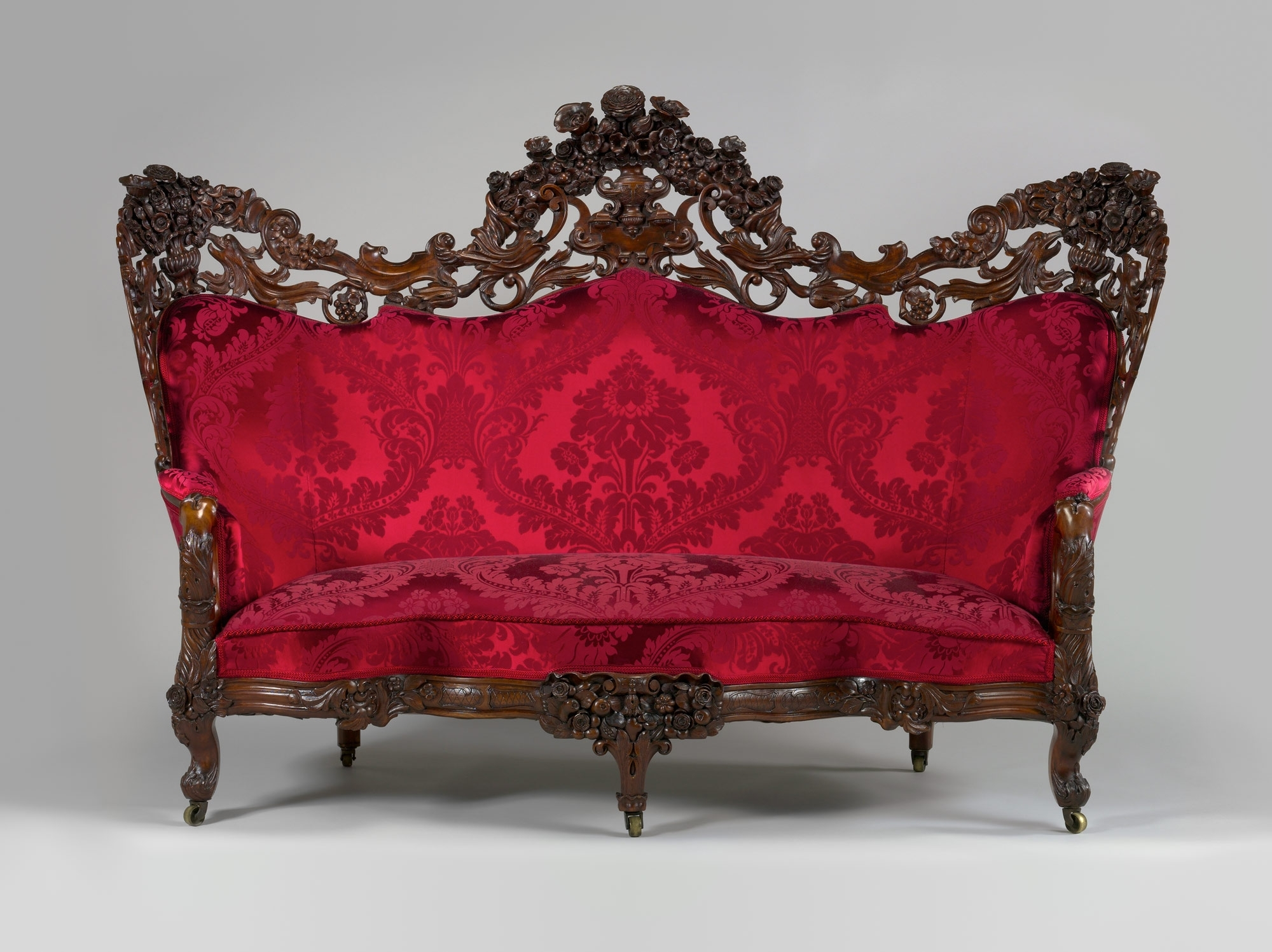 Favorite Ss Popular Sofa Rococo Style Home Decor Furniture Pink Anima Pertaining To Gothic Sofas (View 7 of 15)