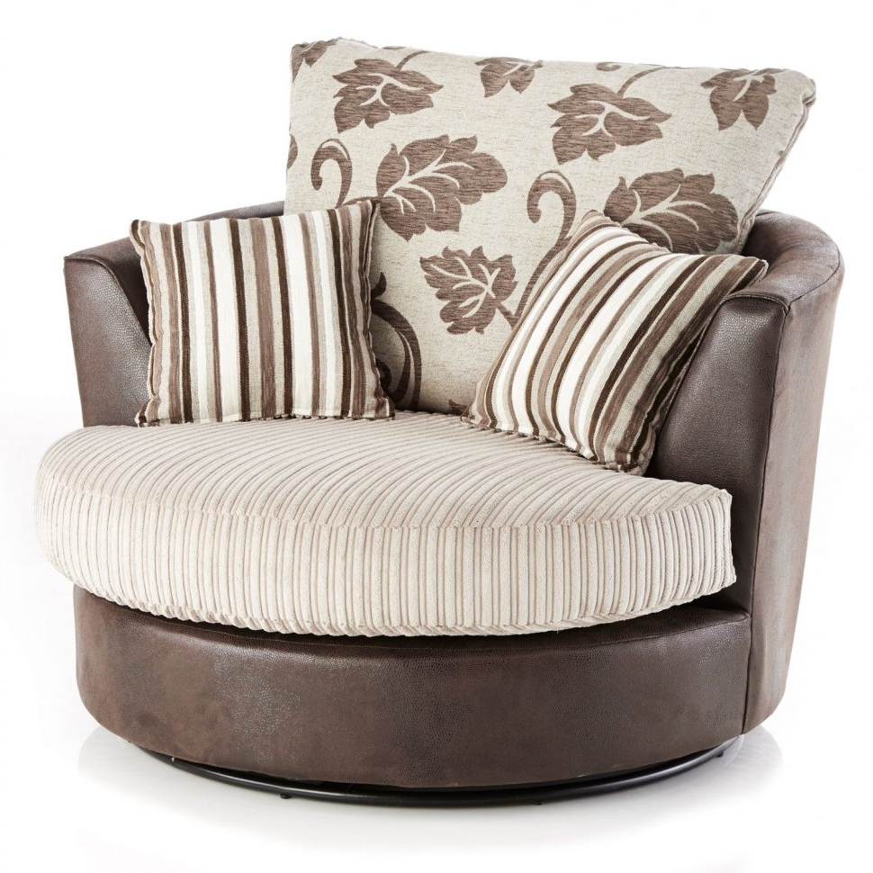 Favorite Swivel Sofa Chairs With Regard To Chairs : Chairs Circular Comfy Chair Beautiful Swivel Sofa Cheap (View 7 of 15)