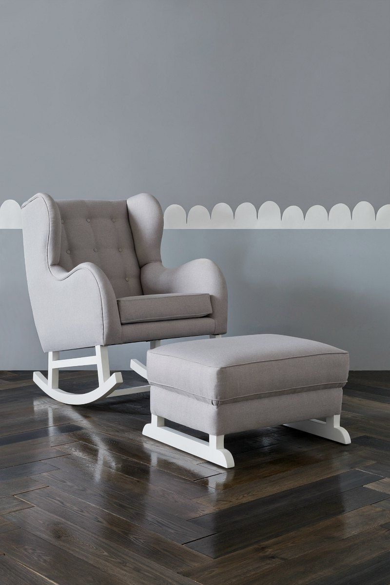 Favorite The Rocking Chair Your Nursery (And Sore Back) Has Been Crying Out Inside Rocking Sofa Chairs (View 14 of 15)