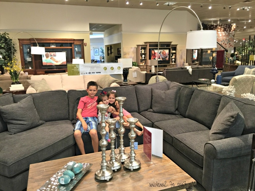 Finding A Family Friendly Sectional Couch – My Rays Of Sunshine Inside Latest Sectional Sofas At Havertys (View 1 of 15)