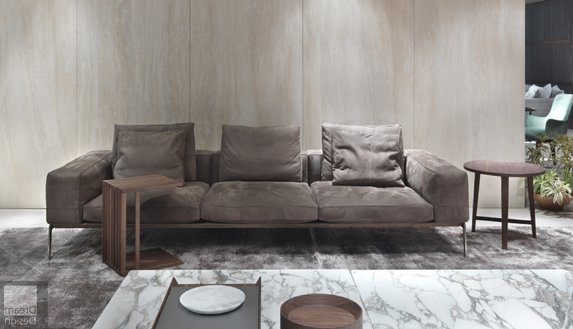 Flexform Lifesteel Sofaantonio Citterio – Everthing But Ordinary Inside Fashionable Flexform Sofas (View 14 of 15)