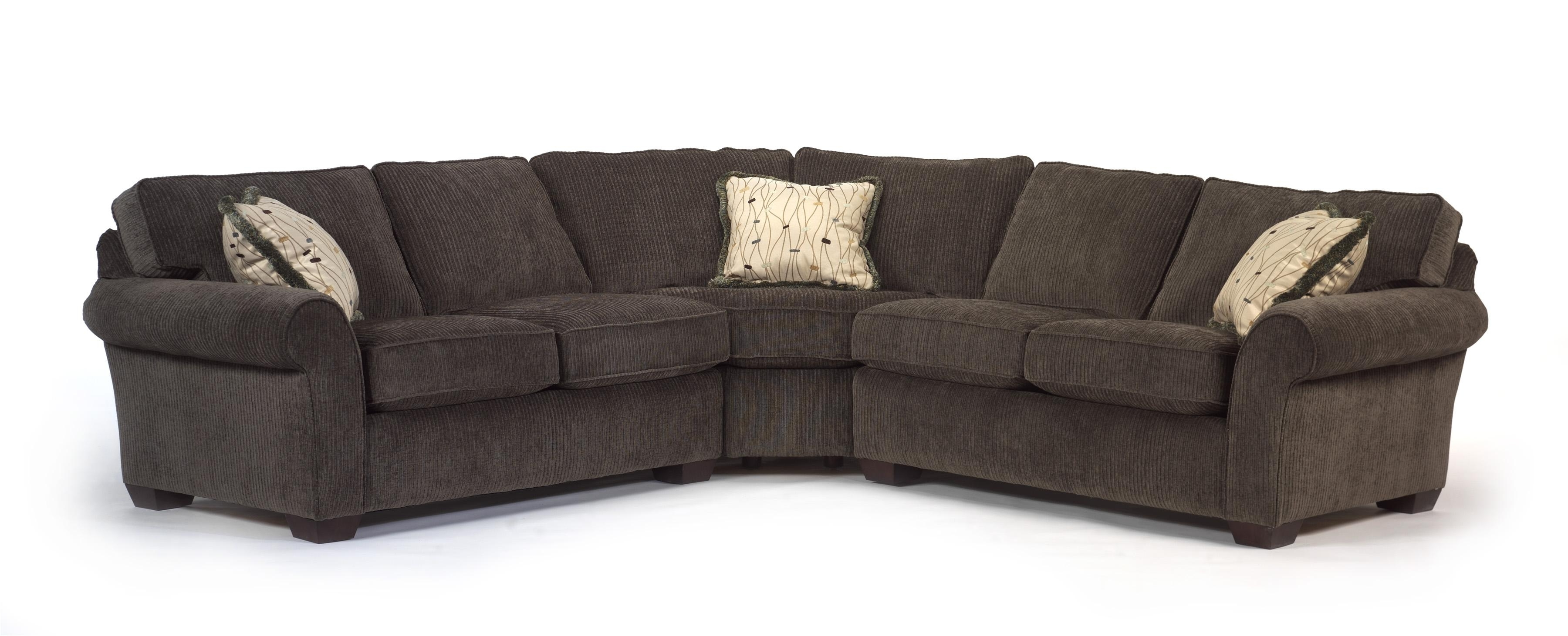 Flexsteel Vail Corner Sectional Sofa – Ahfa – Sofa Sectional Throughout Trendy Kansas City Sectional Sofas (View 7 of 15)