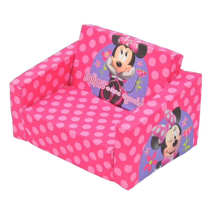 Flip Out Sofas With Regard To Well Liked Flip Out Sofa Minnie Mouse (View 5 of 15)