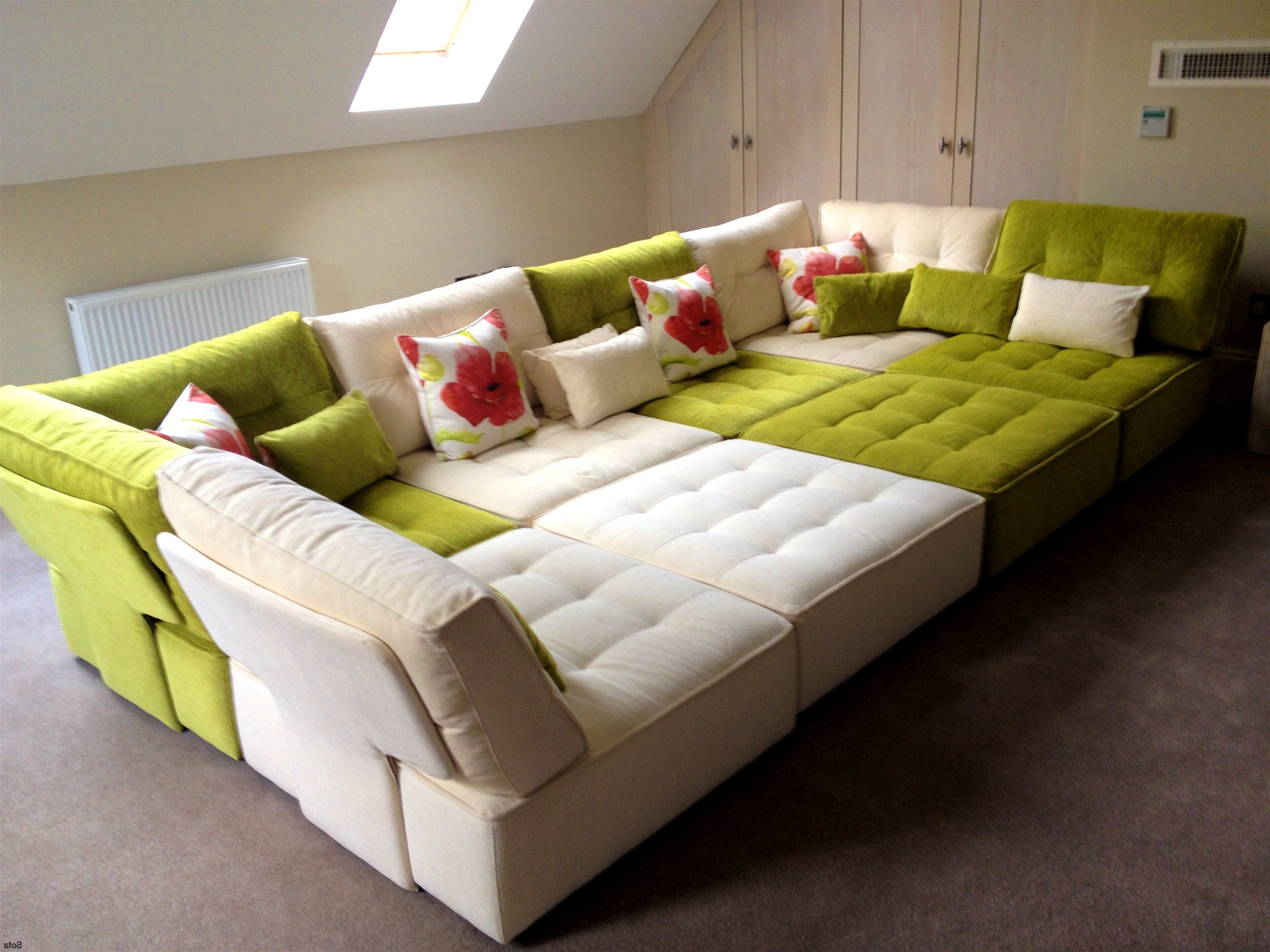 Floor Cushion Sofas For Most Up To Date Floor Cushion Sofa – Mforum (View 2 of 15)
