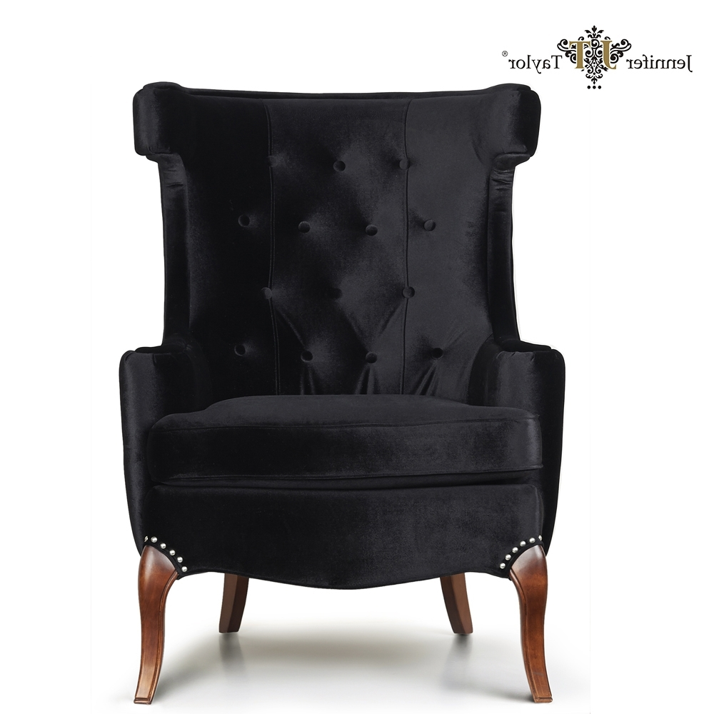 Floor Seat Single Black Velvet Fabric Sofa Chair/ High Back Living Pertaining To Well Known Single Seat Sofa Chairs (View 4 of 15)