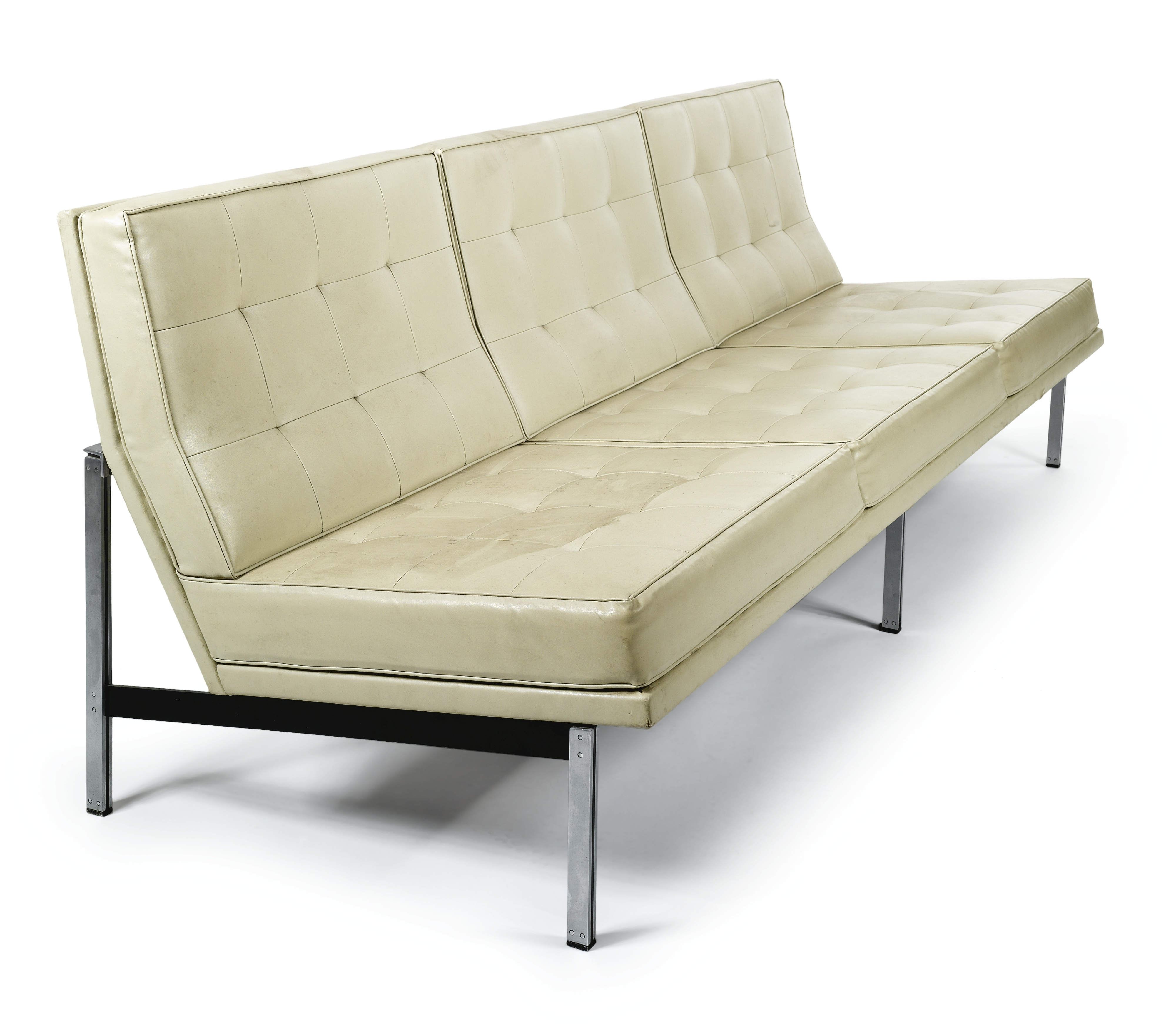 "Florence Grand Sofas With Best And Newest Florence Knoll ""parallel "" Sofa, Model No (View 7 of 15)"