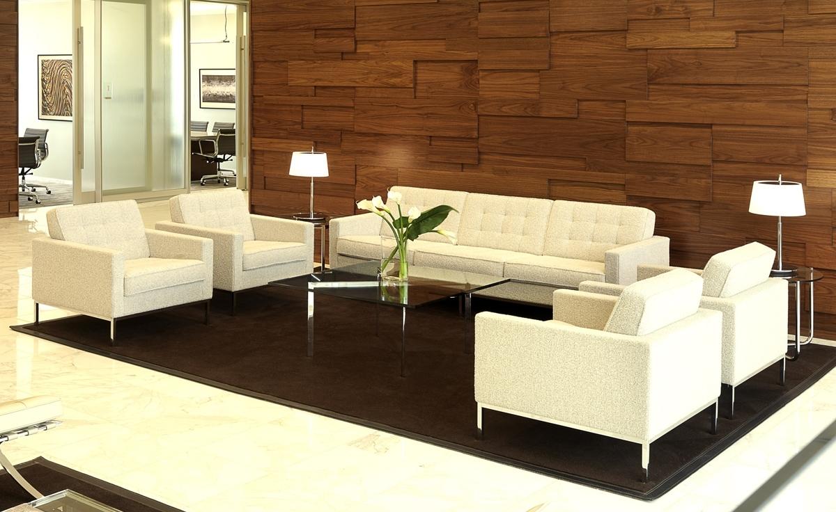 Florence Knoll 3 Seat Sofa – Hivemodern Inside Latest Florence Knoll 3 Seater Sofas (View 4 of 15)