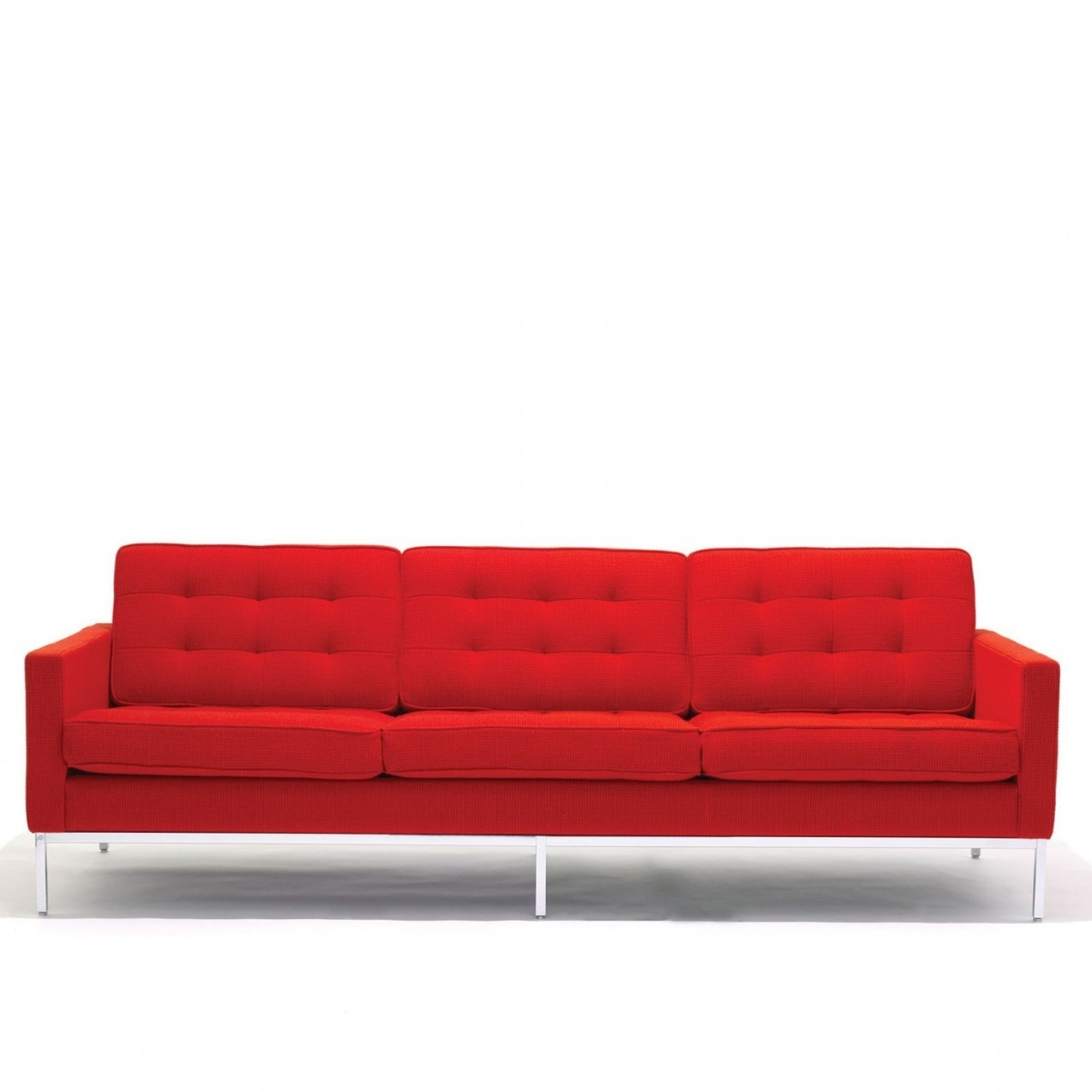 Florence Knoll 3 Seater Sofas Inside Most Current Florence Knoll 3 Seat Sofa (View 2 of 15)
