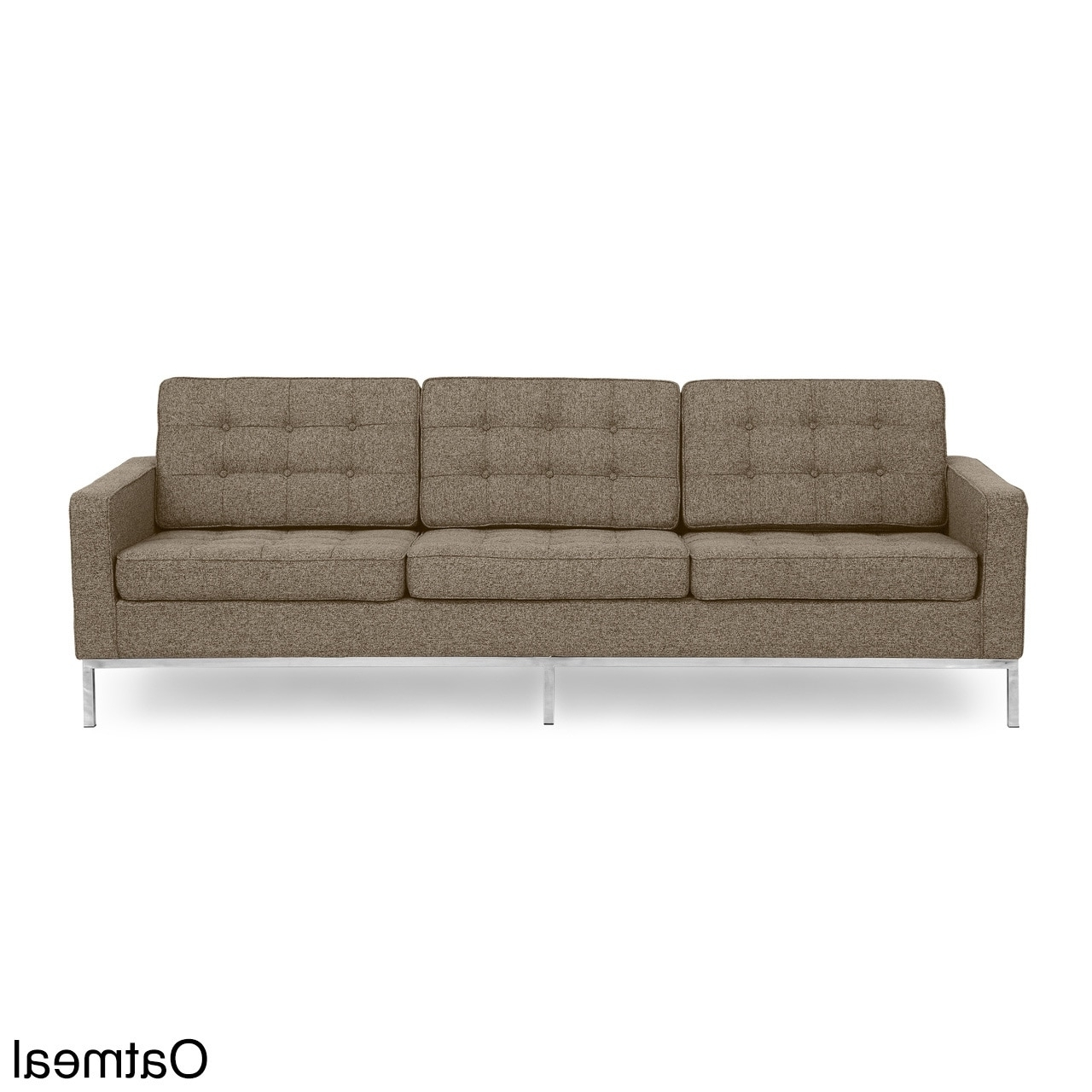 Florence Knoll Style Sofas Within Latest Kardiel Florence Knoll Style Sofa 3 Seat, Premium Fabric (View 10 of 15)