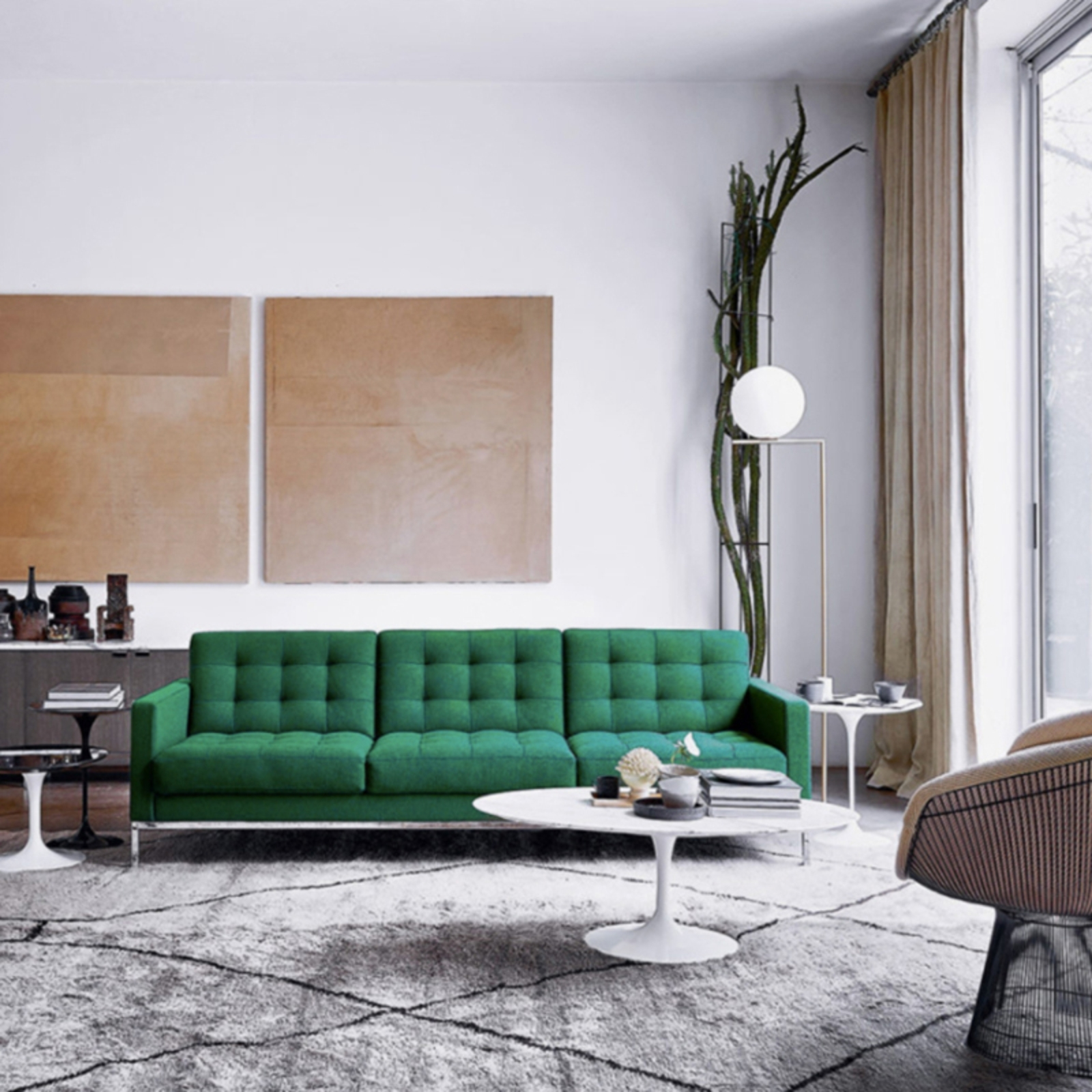 Florence Knoll's 100Th Birthday – Cool Hunting With Regard To Current Florence Large Sofas (View 12 of 15)