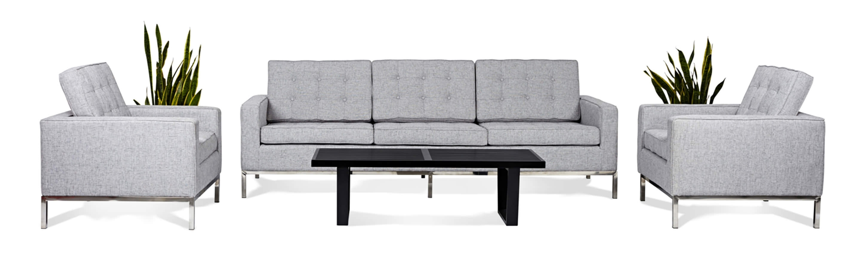 Florence Sofas And Loveseats In Popular Florence Knoll Style Living Room Sets (View 7 of 15)
