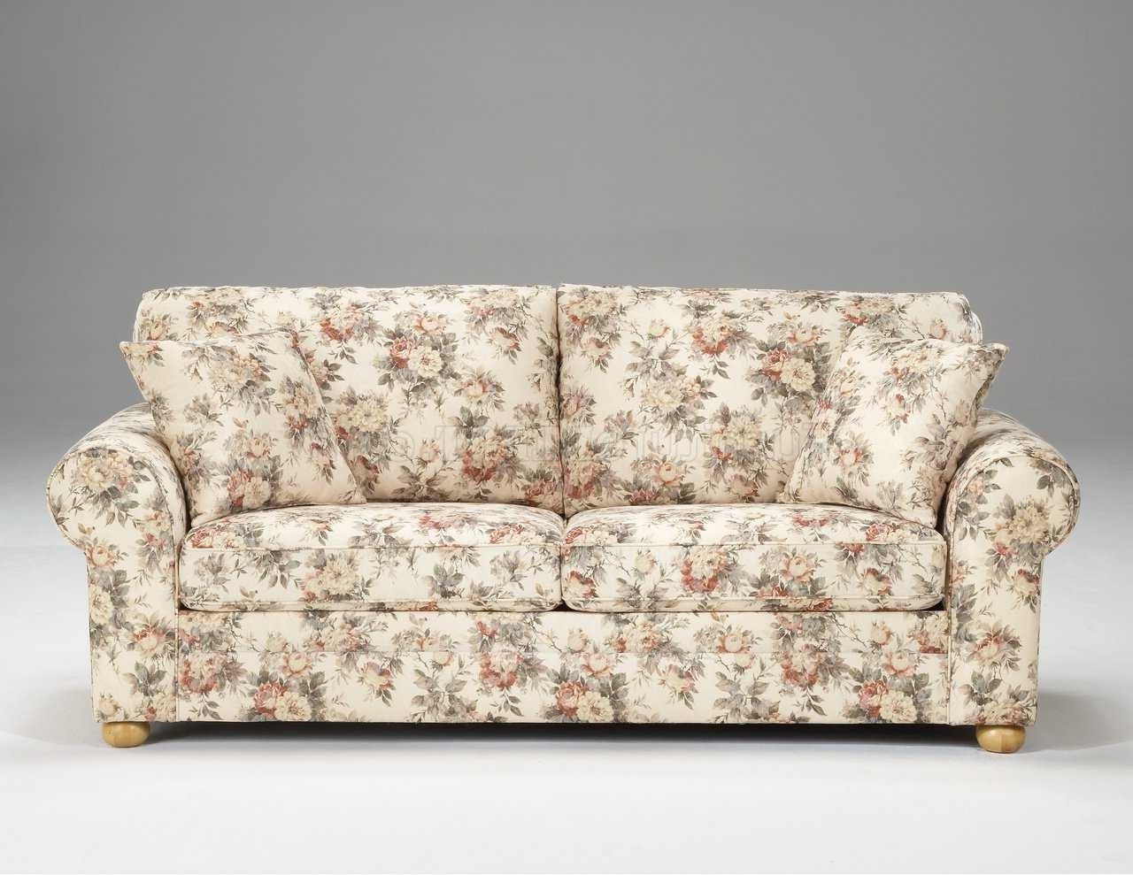 Flowered Sofas – Rpisite Pertaining To Favorite Yellow Chintz Sofas (View 3 of 15)
